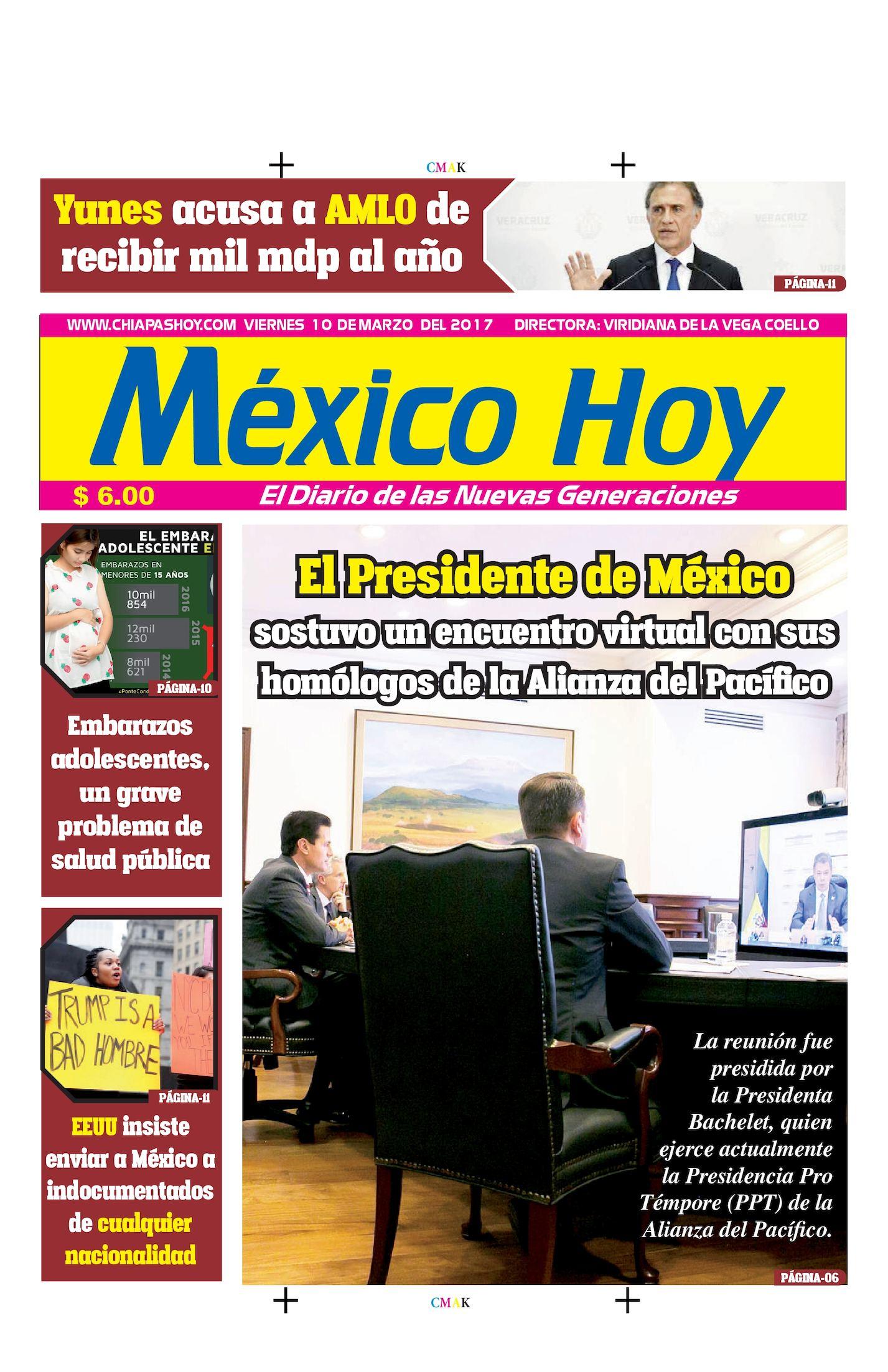 MEXICO HOY 10 DE MARZO