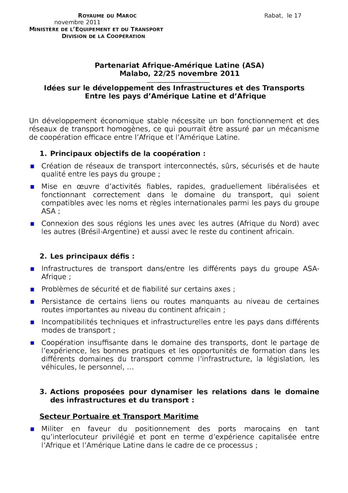 DCSujets Proposés ASA Malabo Nov2011