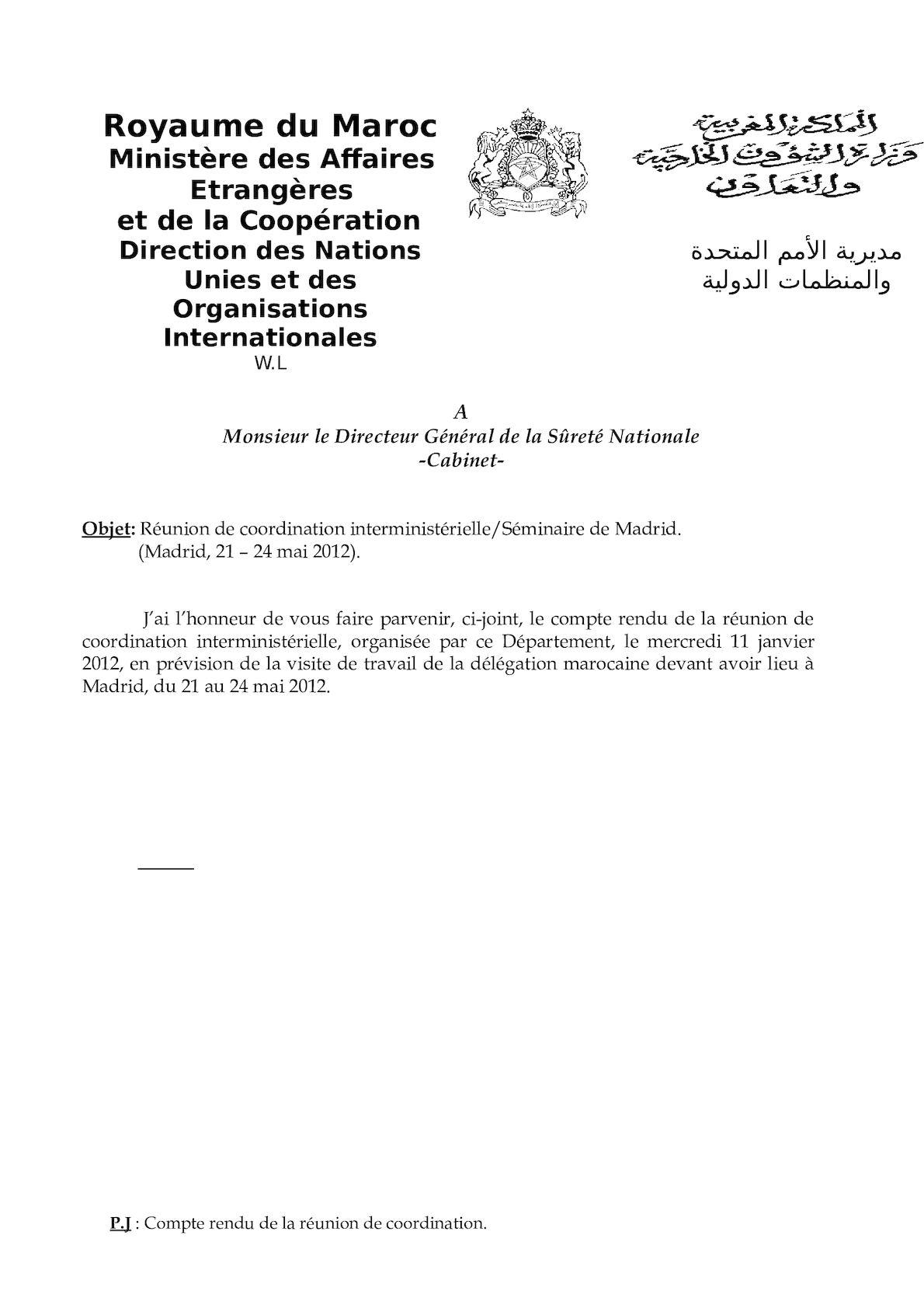 DGSN - Compte Rendu Réunion Coordination(1).