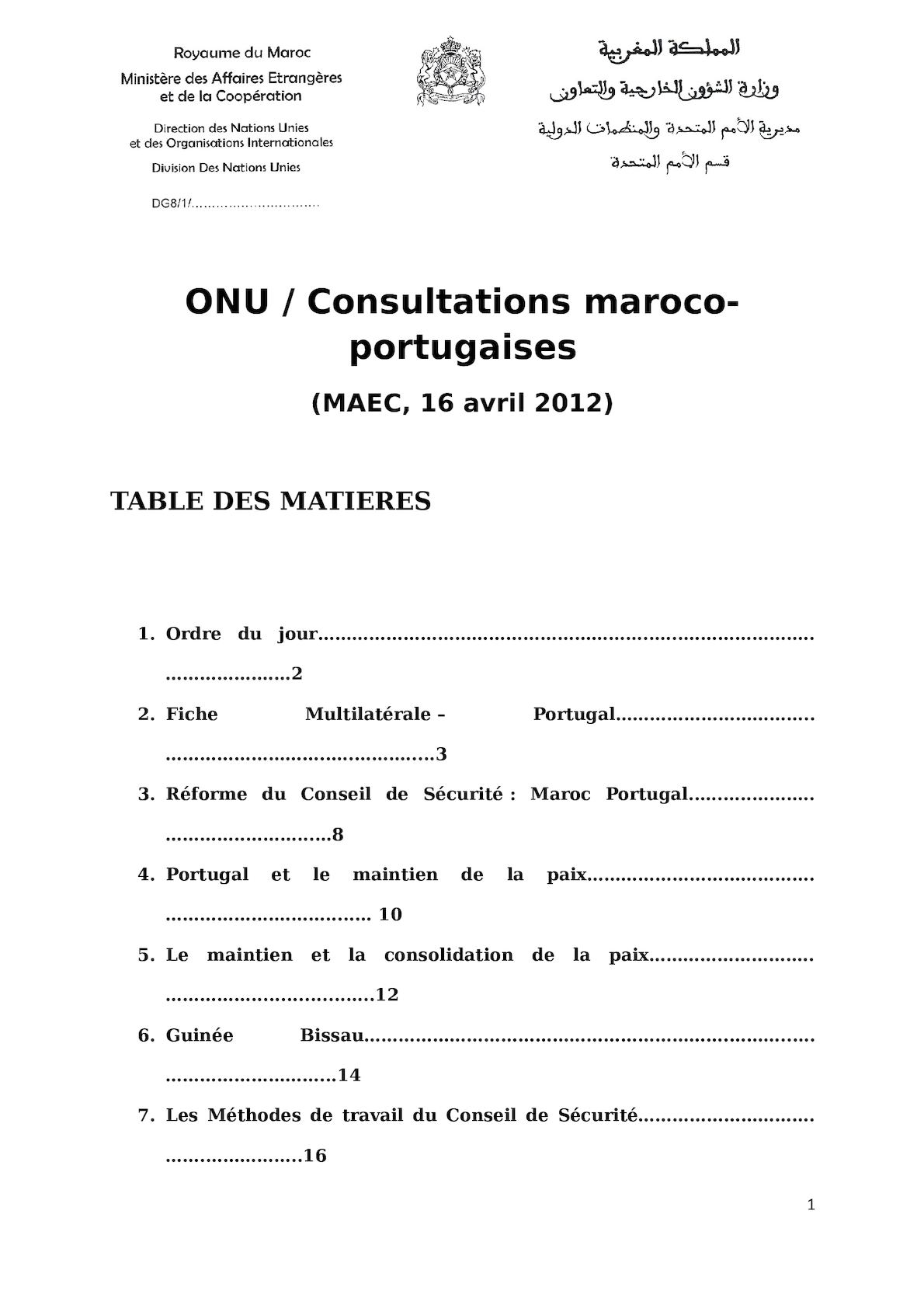CS Consultations Multilatérales 16 Avril 2012 - Document Final Version 2