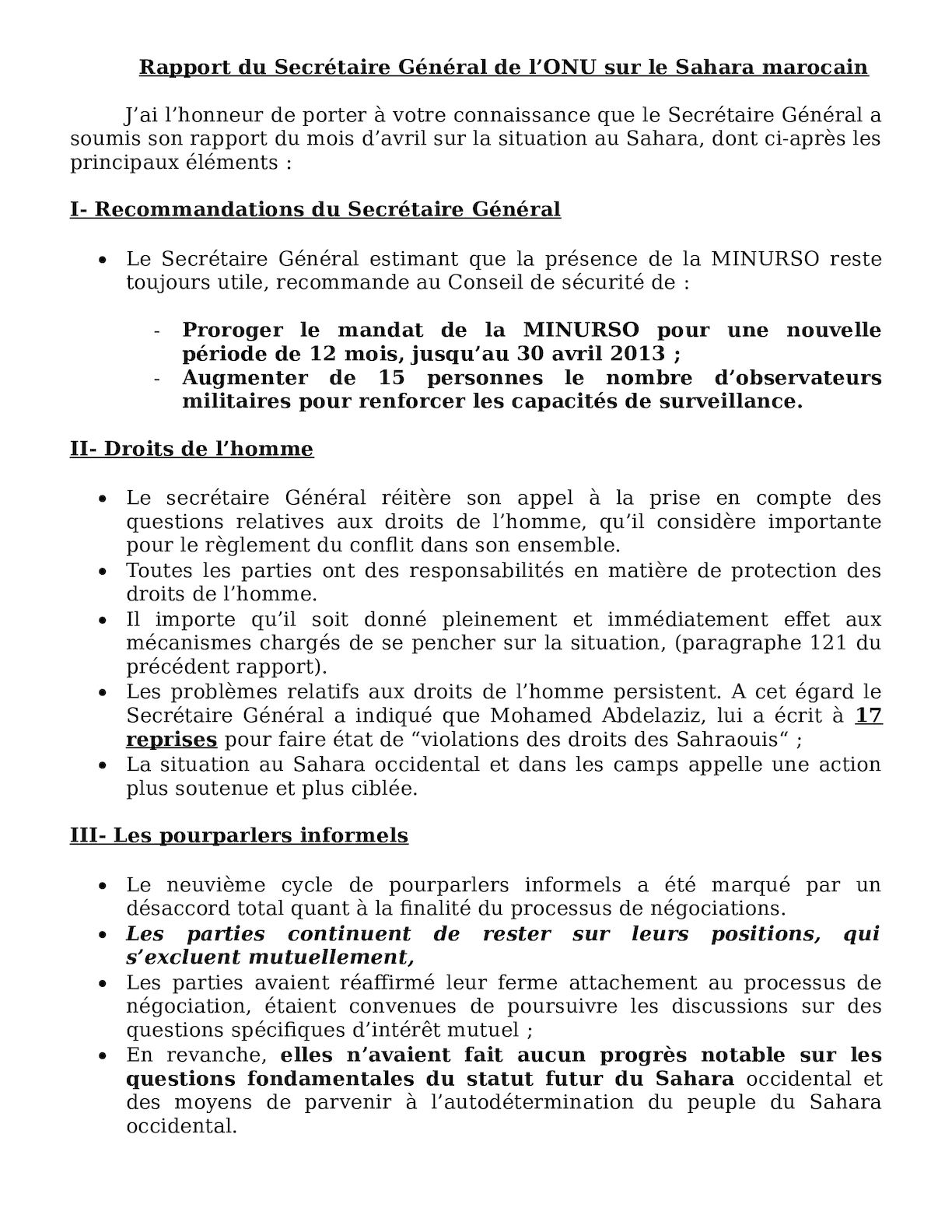 Sahara Rapport Sg 2012