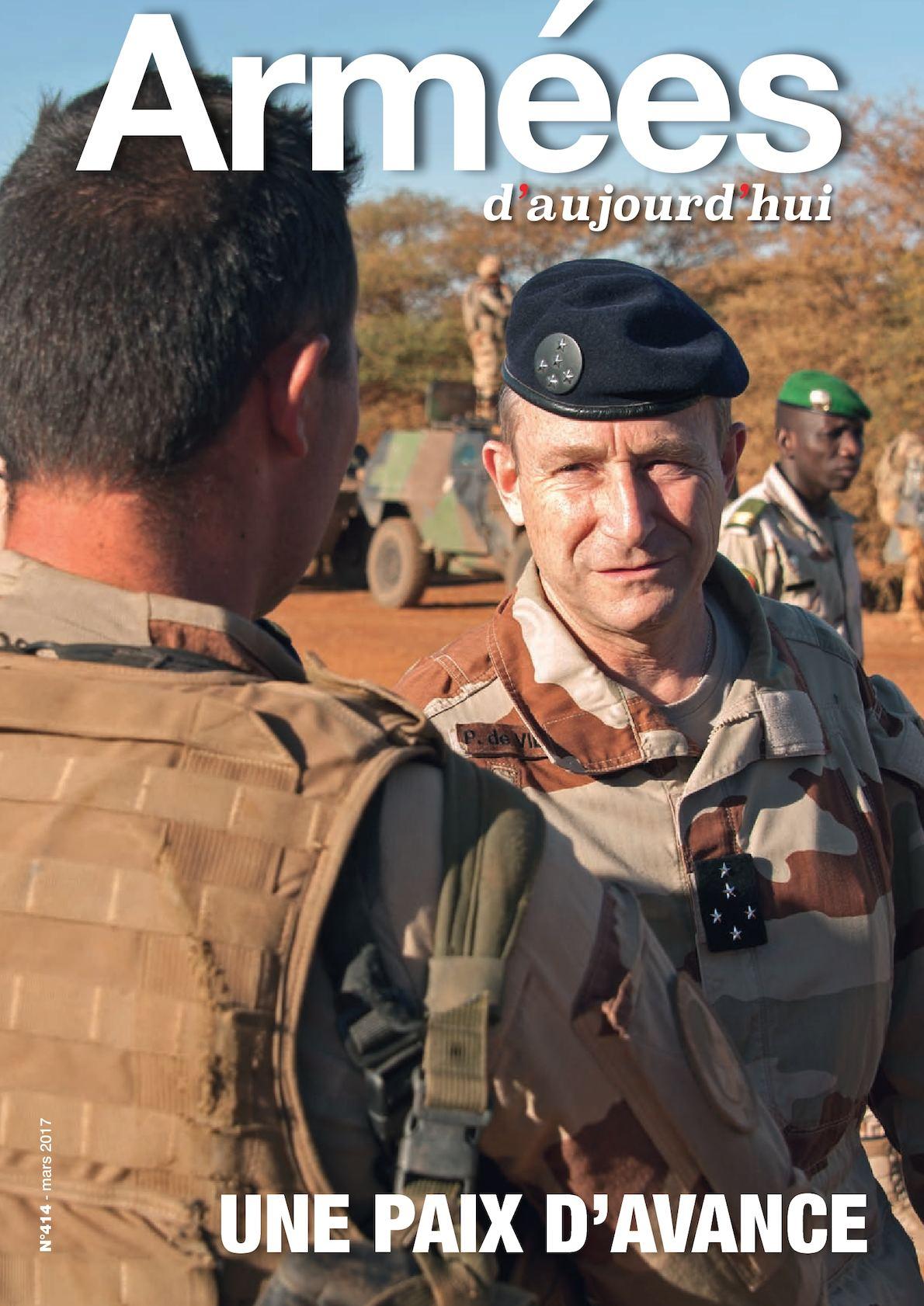 Armées d'aujourd'hui n° 414 Mars 2017