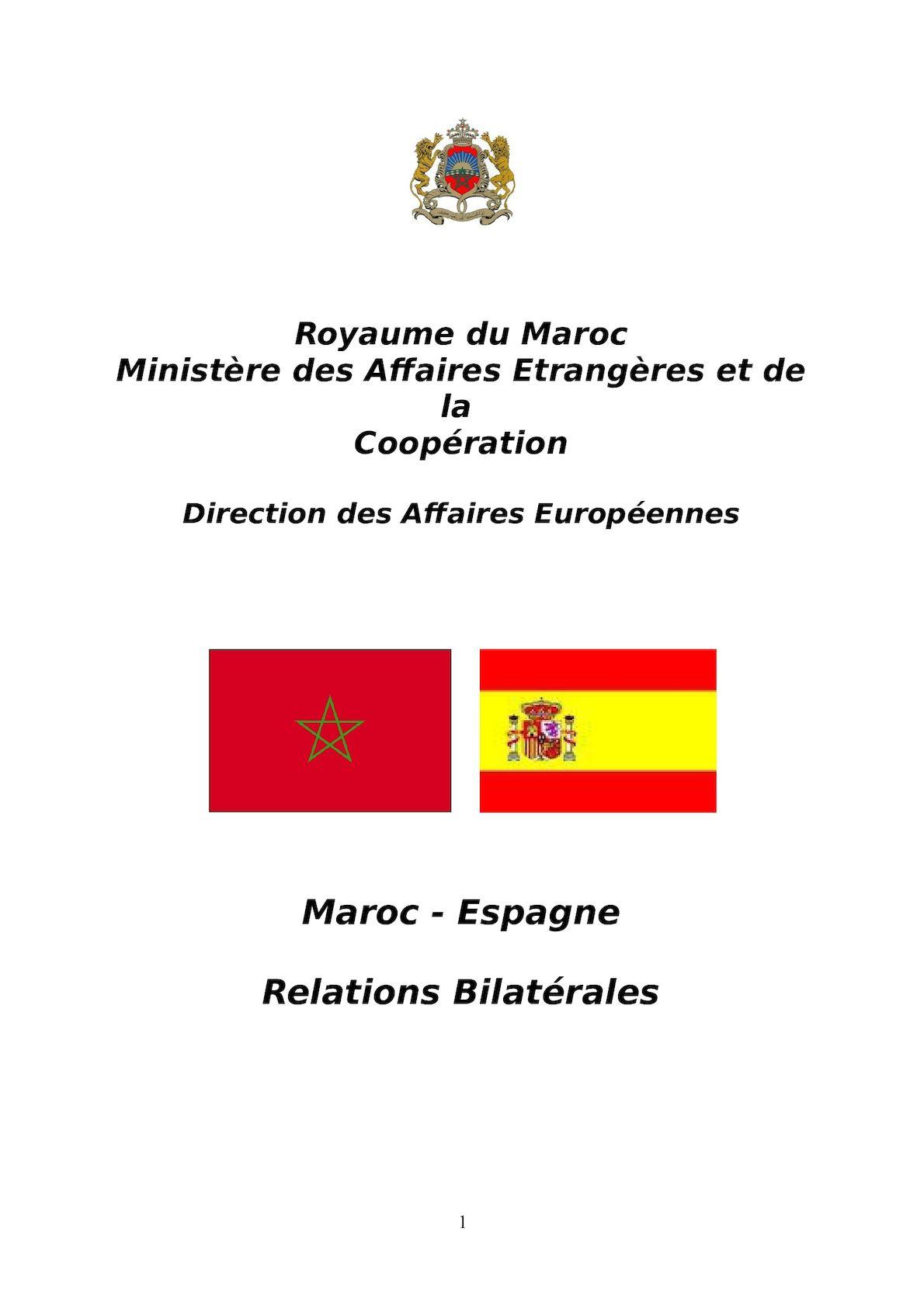 Dossier Espagne