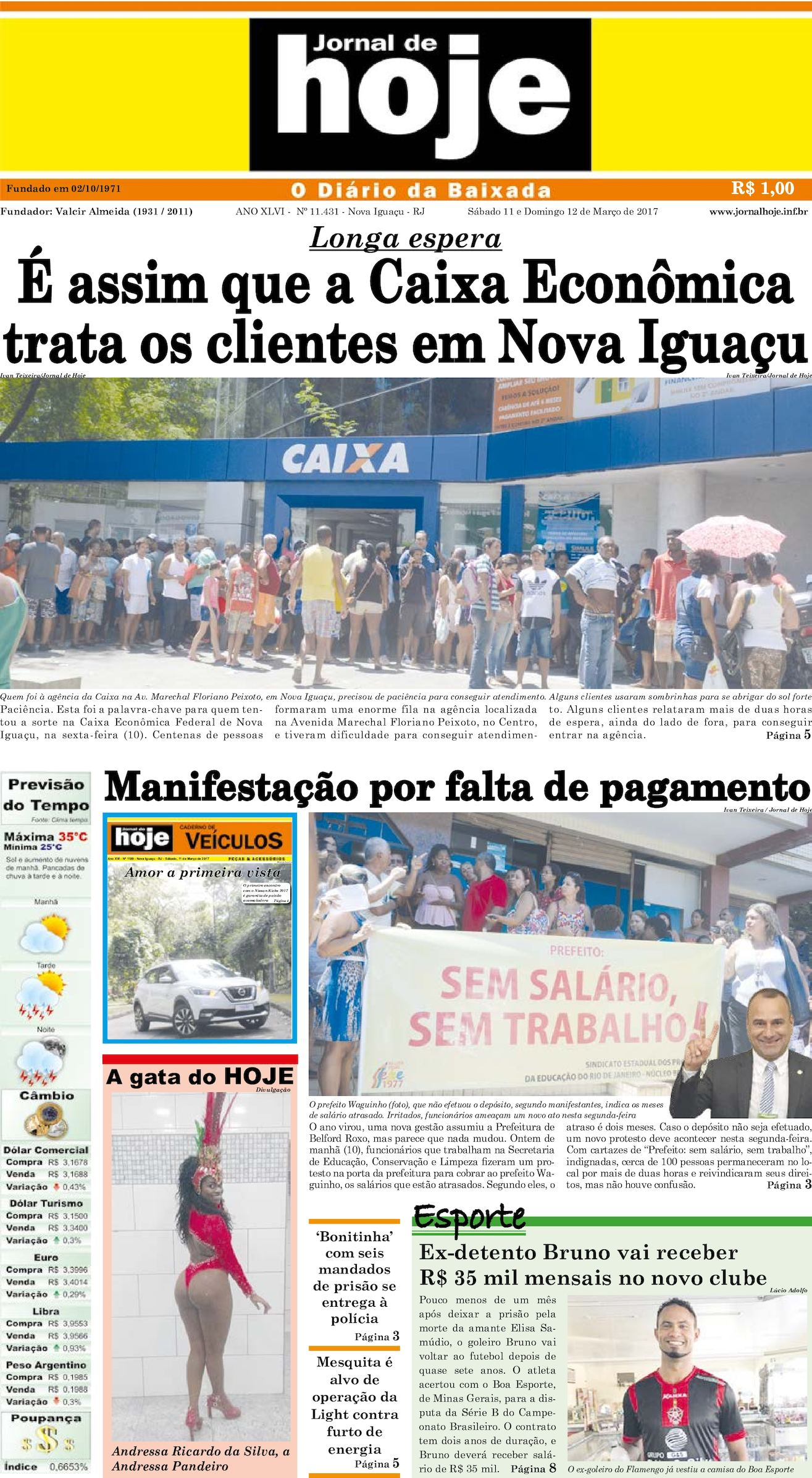 Jornal De Hoje 110317