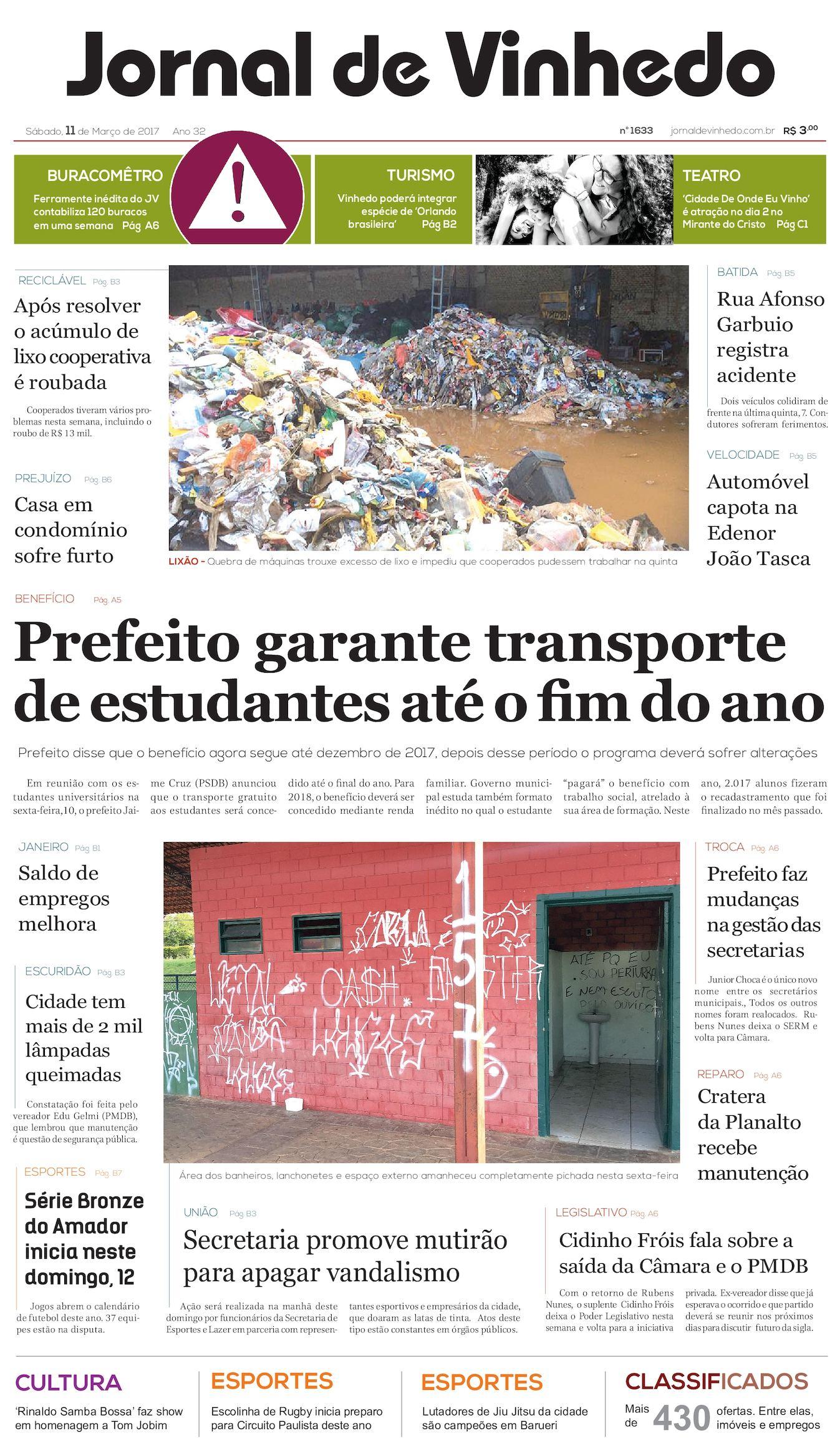 85143a1c3e Calaméo - Jornal De Vinhedo Sabado 11 De Março De 2017 Edic 1633