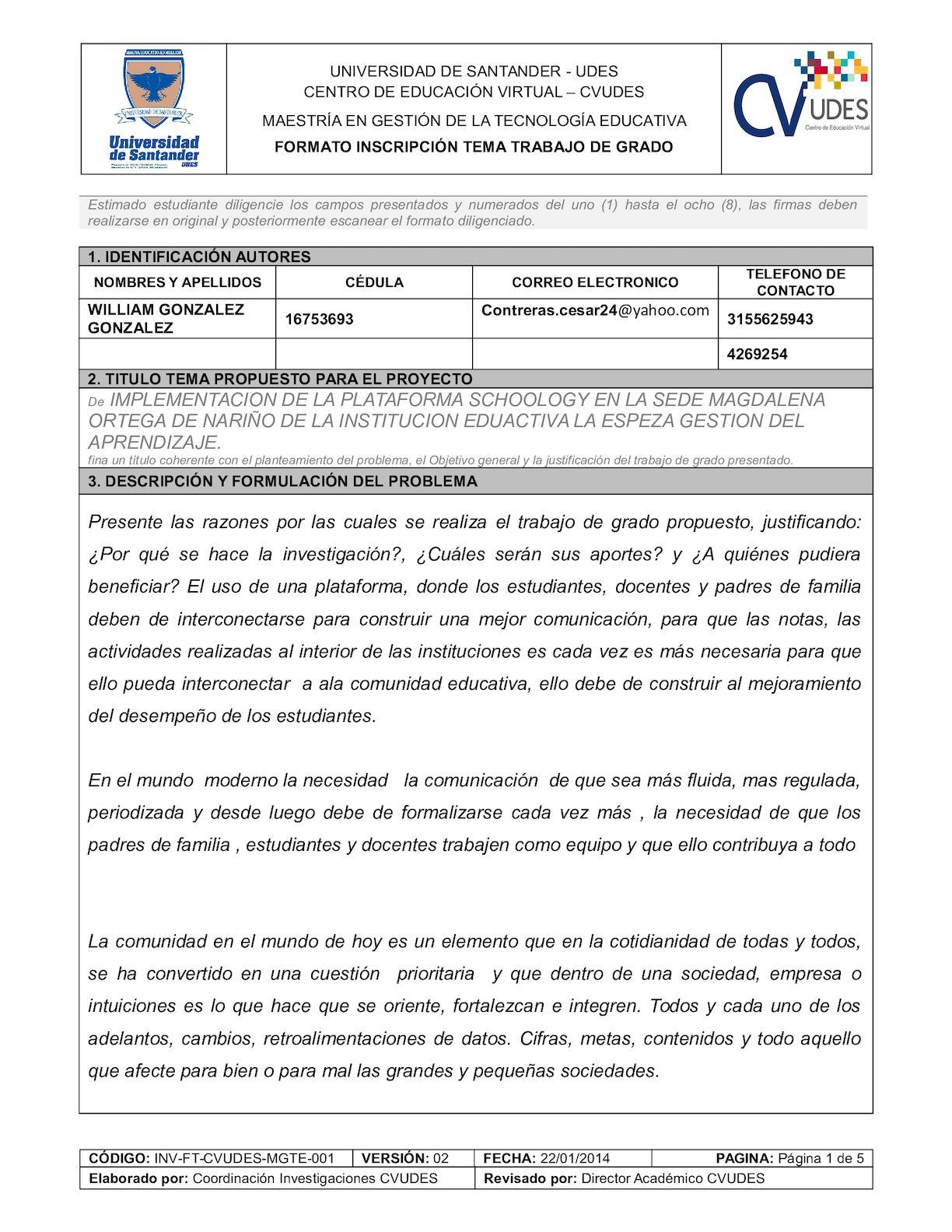 Estimado Estudiante Diligencie Los Campos Presentados Y Numerados Del Un1