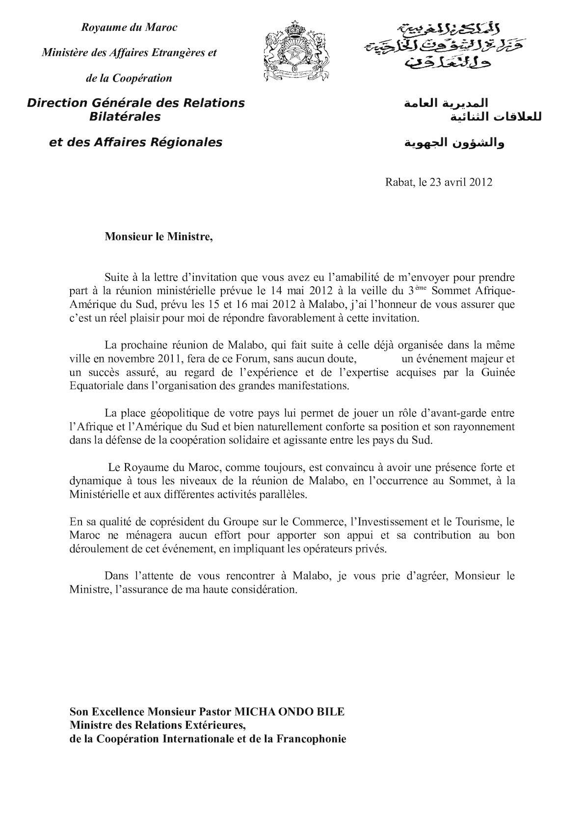 Lettre De Monsieur Le Ministre(2).