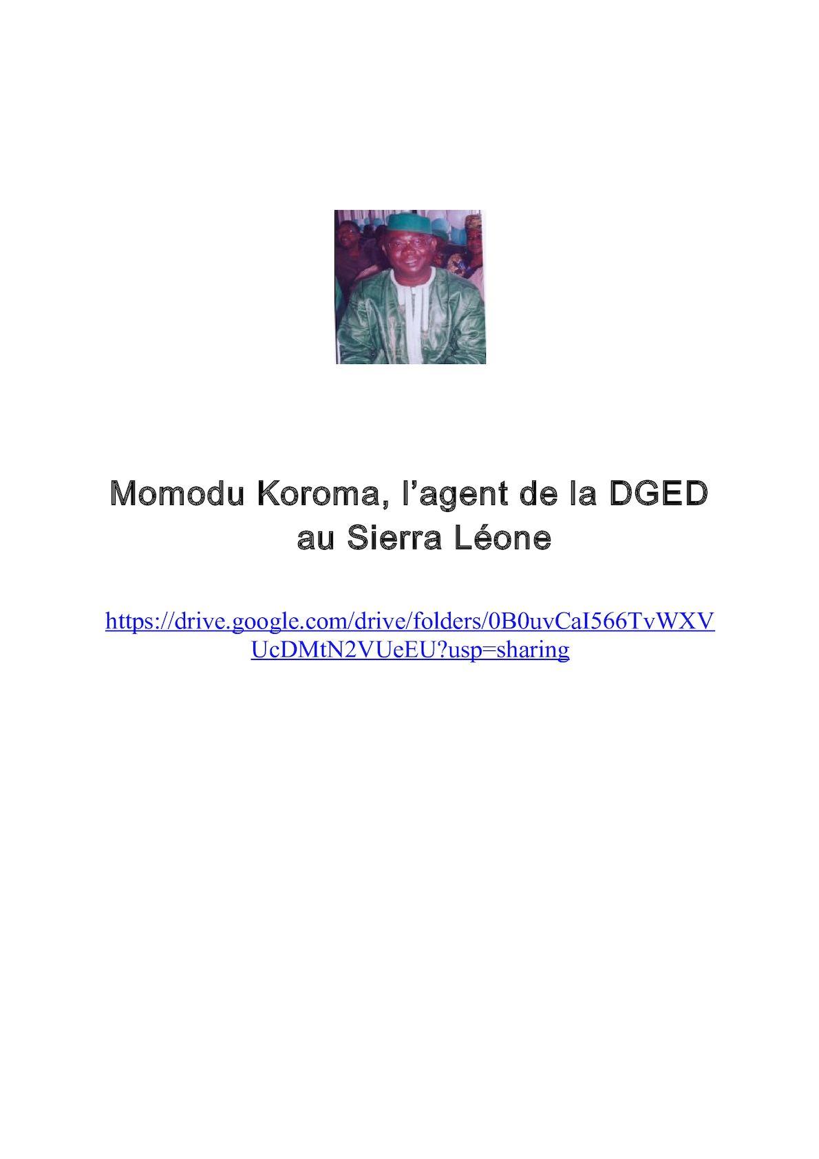Momodu Koroma