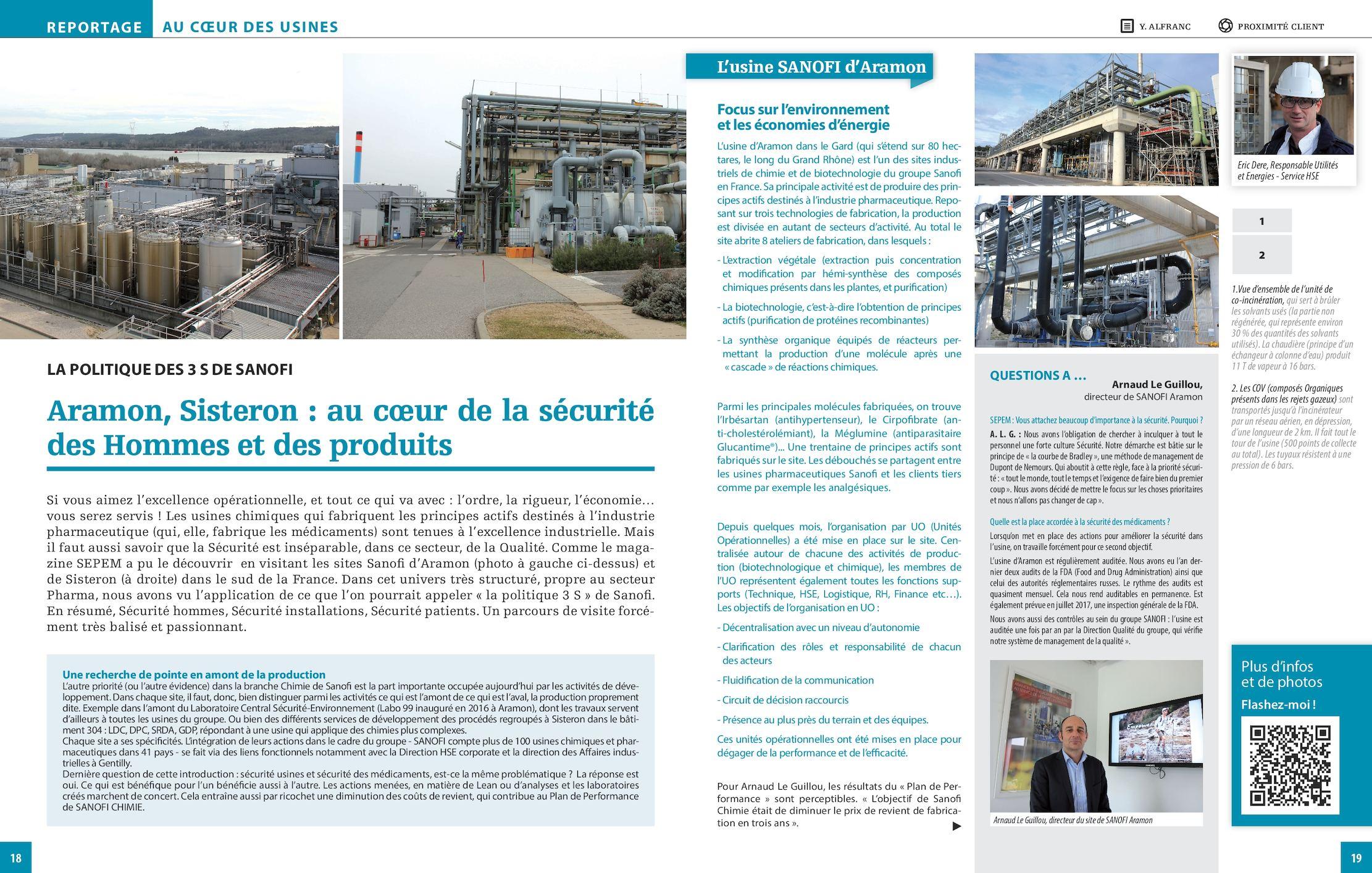 Reportage Sanofi Avignon 2017
