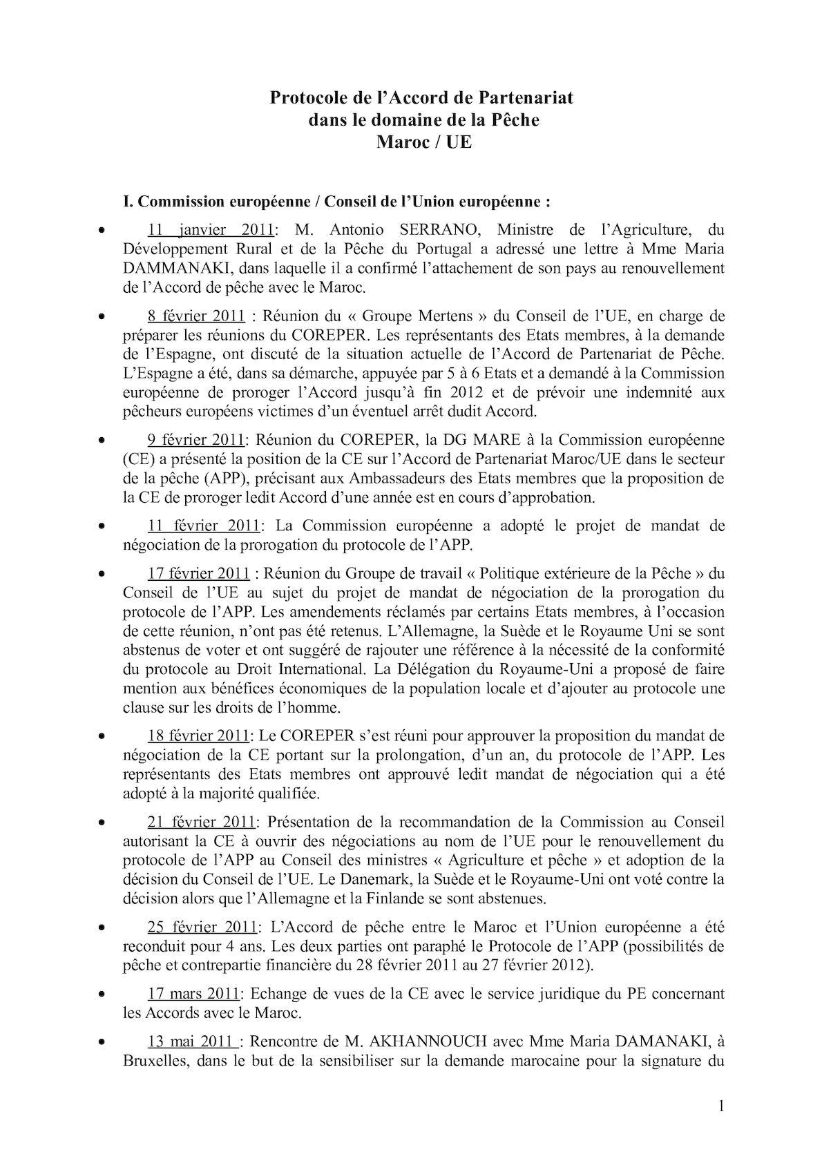 Fiche Accord De Peche Maroc Ue Last