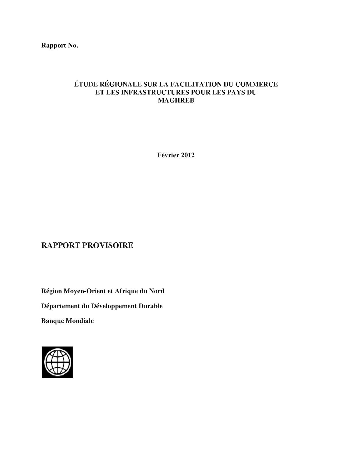 Rapport Maghreb Tfi Feb 12 2012ntrr