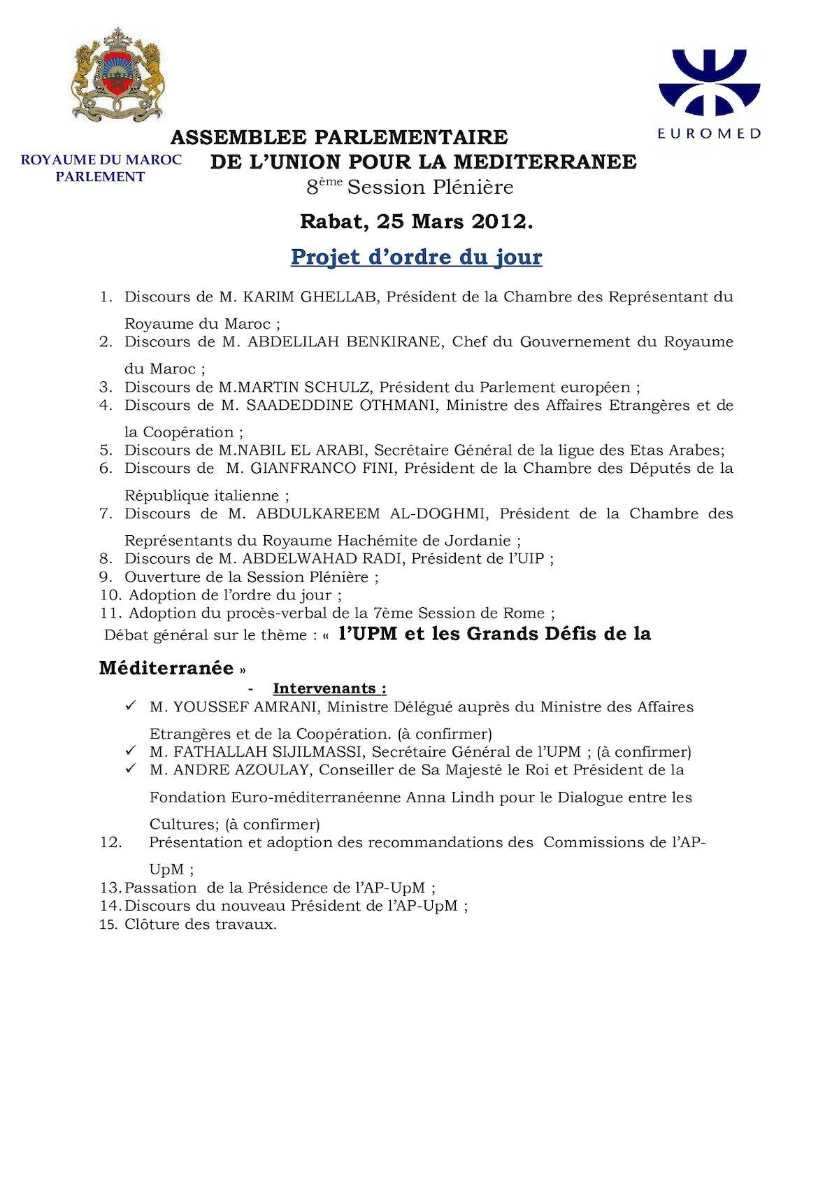 Projet Ordre Du Jour 8session Pléniere Apupm[1].