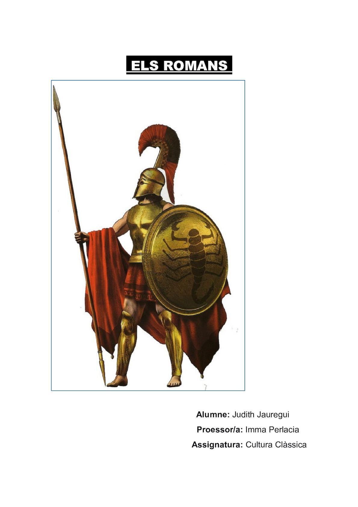 Els Romans 6
