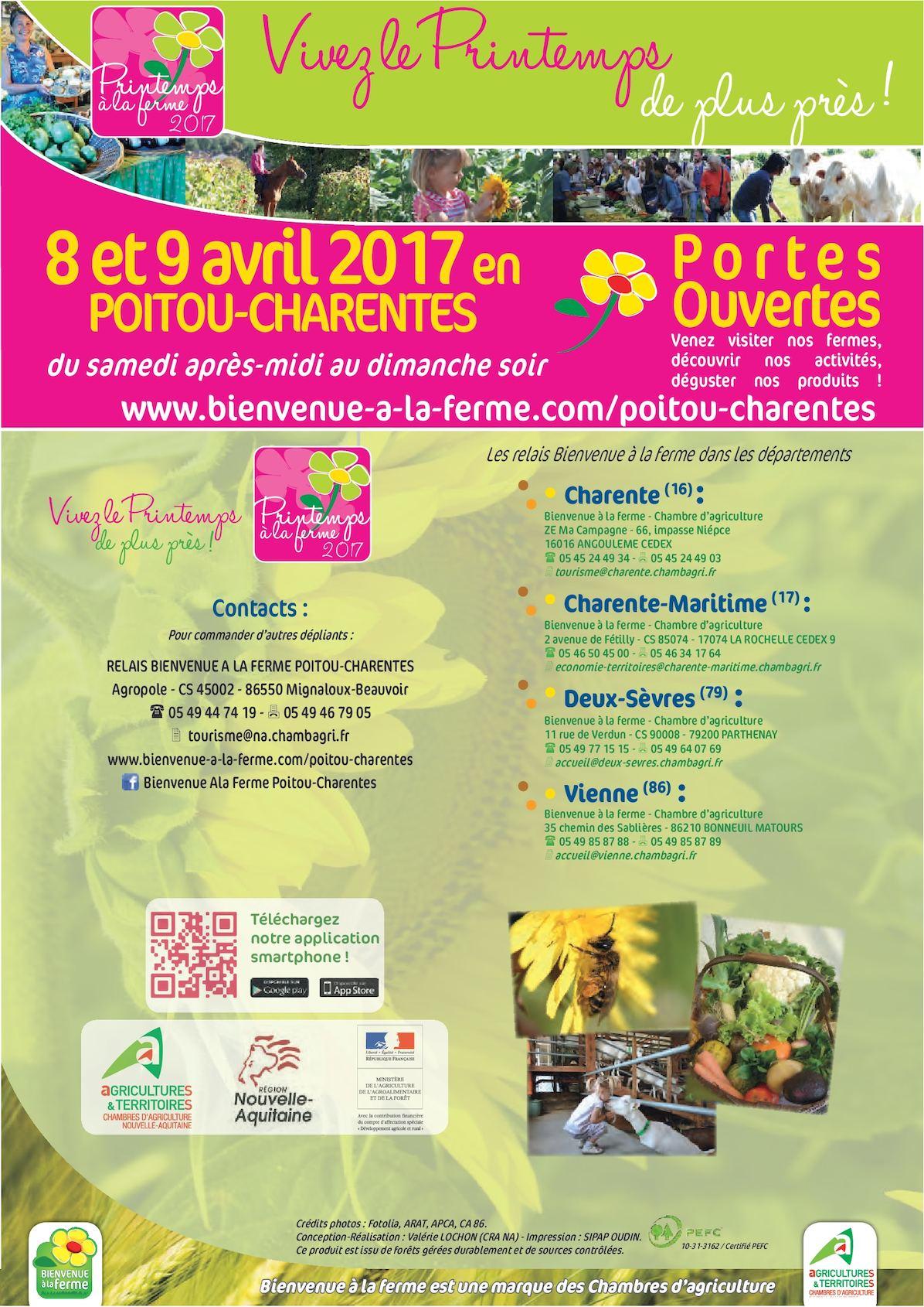 Calaméo Portes ouvertes 8 et 9 avril 2017