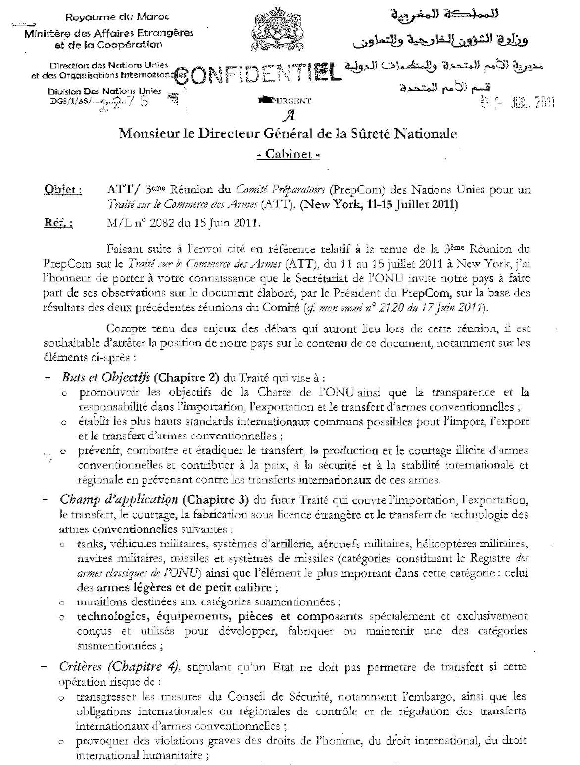 2275 Sureté Nationale