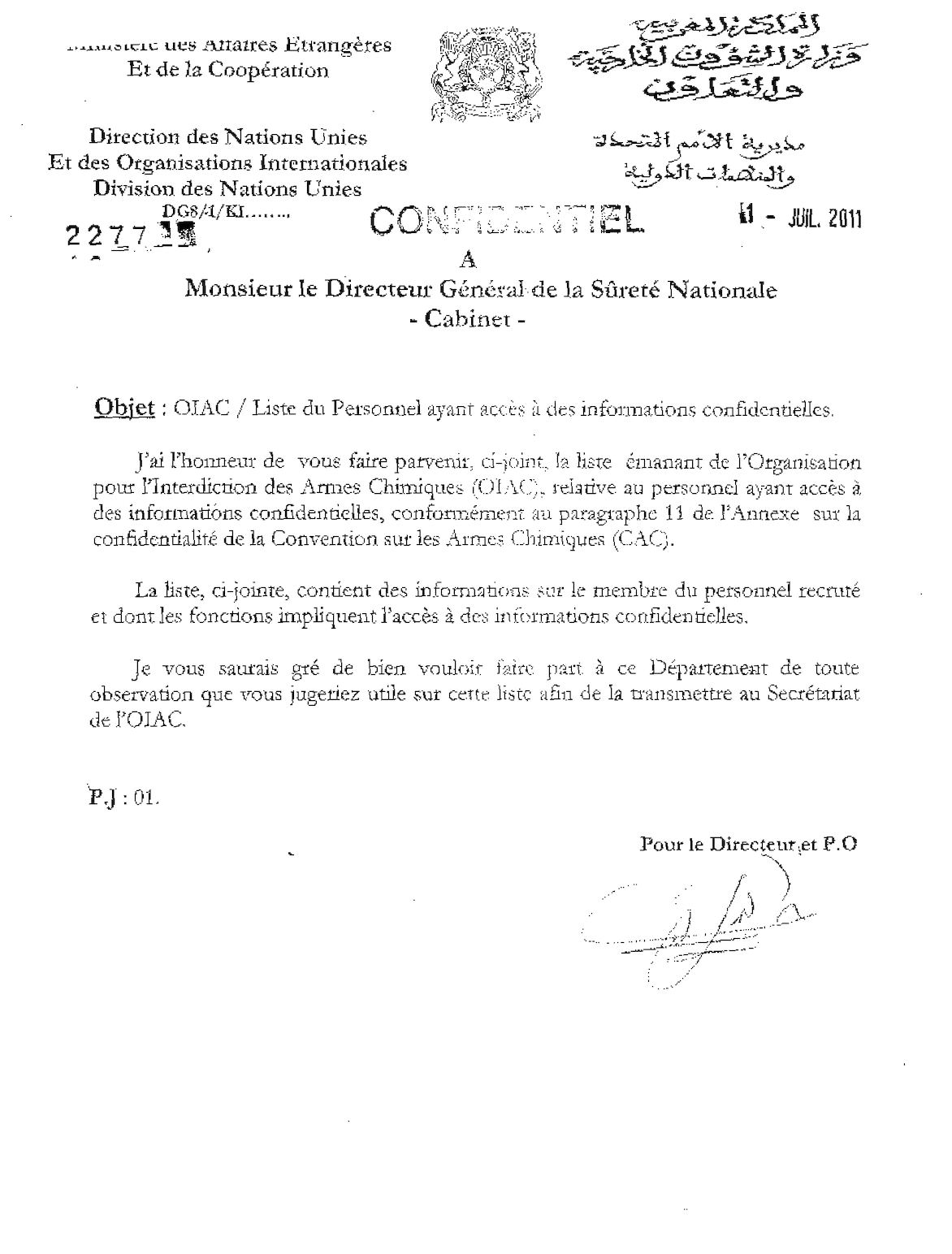2277 Sureté Nationale