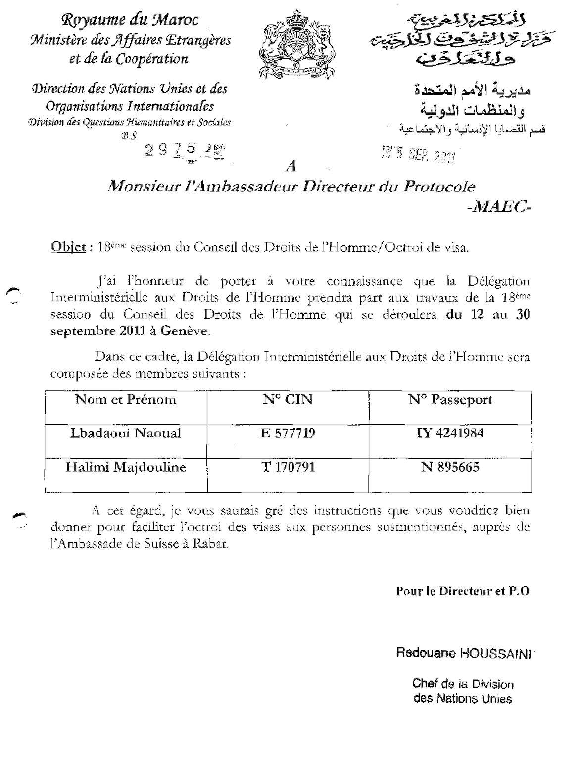 2975 Protocole