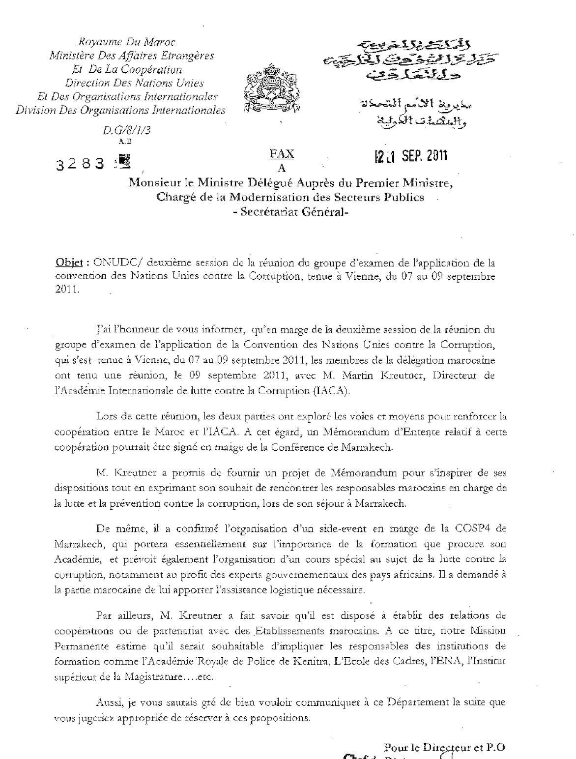 3283 Modrnisation Du Secteur Publics