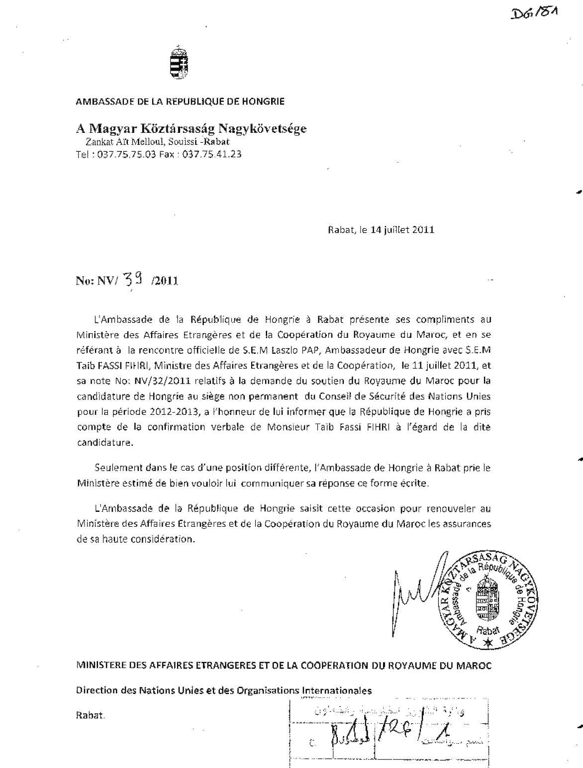 Note Hongrie 34
