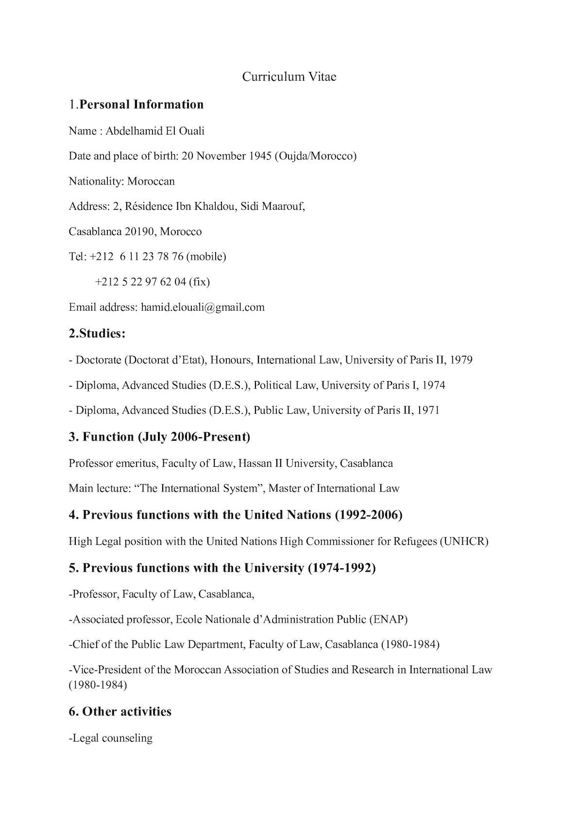 Cv Hamid Plus Récent Anglais (4)