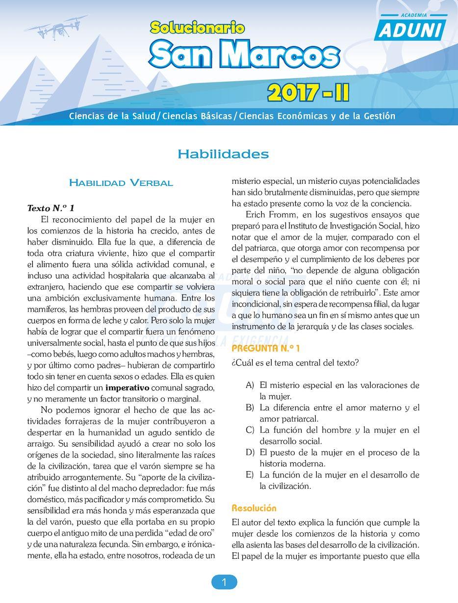 Calaméo - Solucionario Sm 2017 II