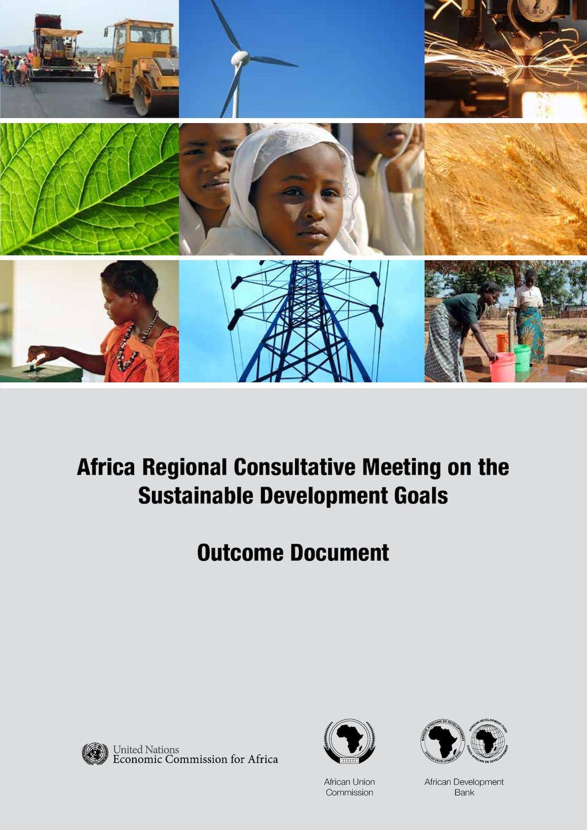 Africa Sdgs Outcome Doc November 2013