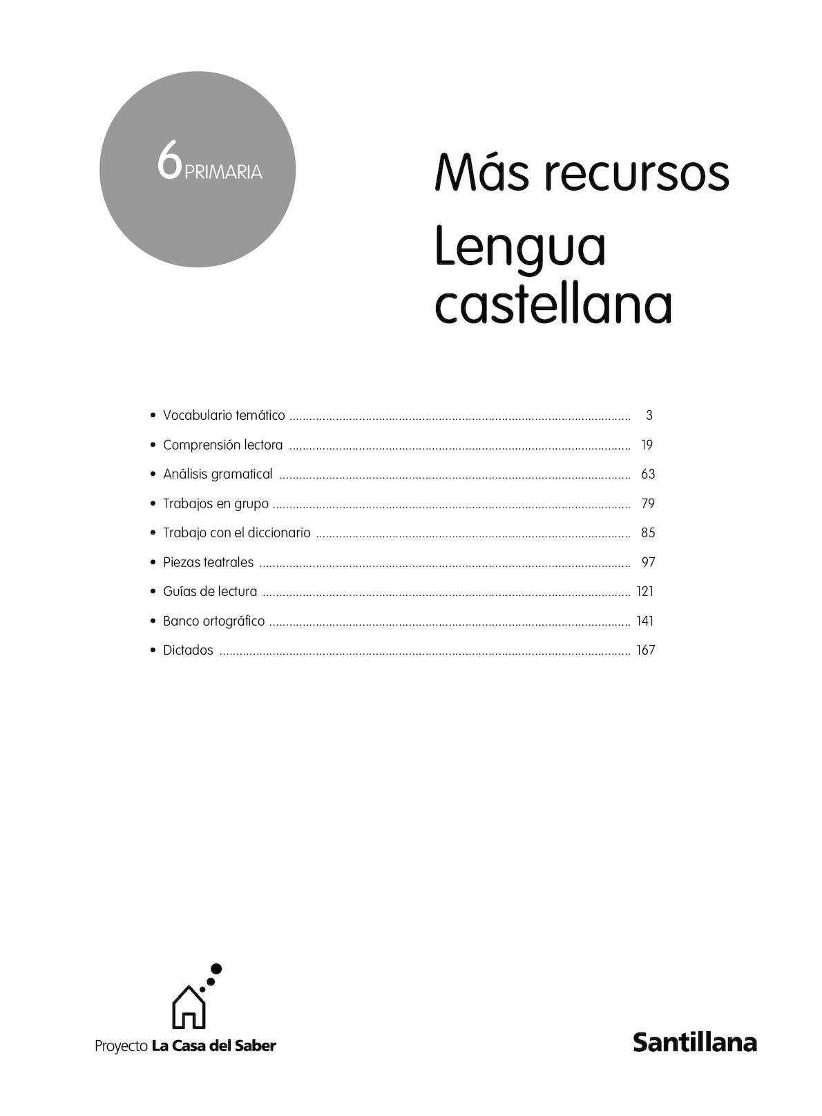 Calaméo - 73156901 Mas Recursos Lengua 6º