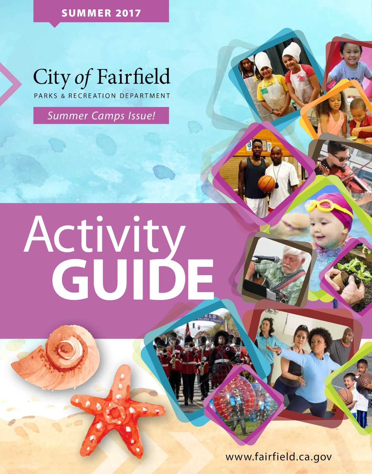 Calaméo - City of Fairfield Summer 2017 Activity Guide