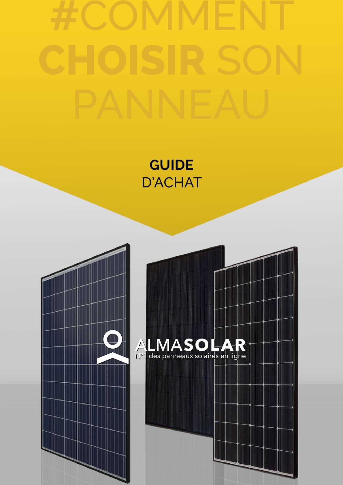 Calam o choisir son panneau solaire entre poly et mono - Panneau solaire quelle puissance ...