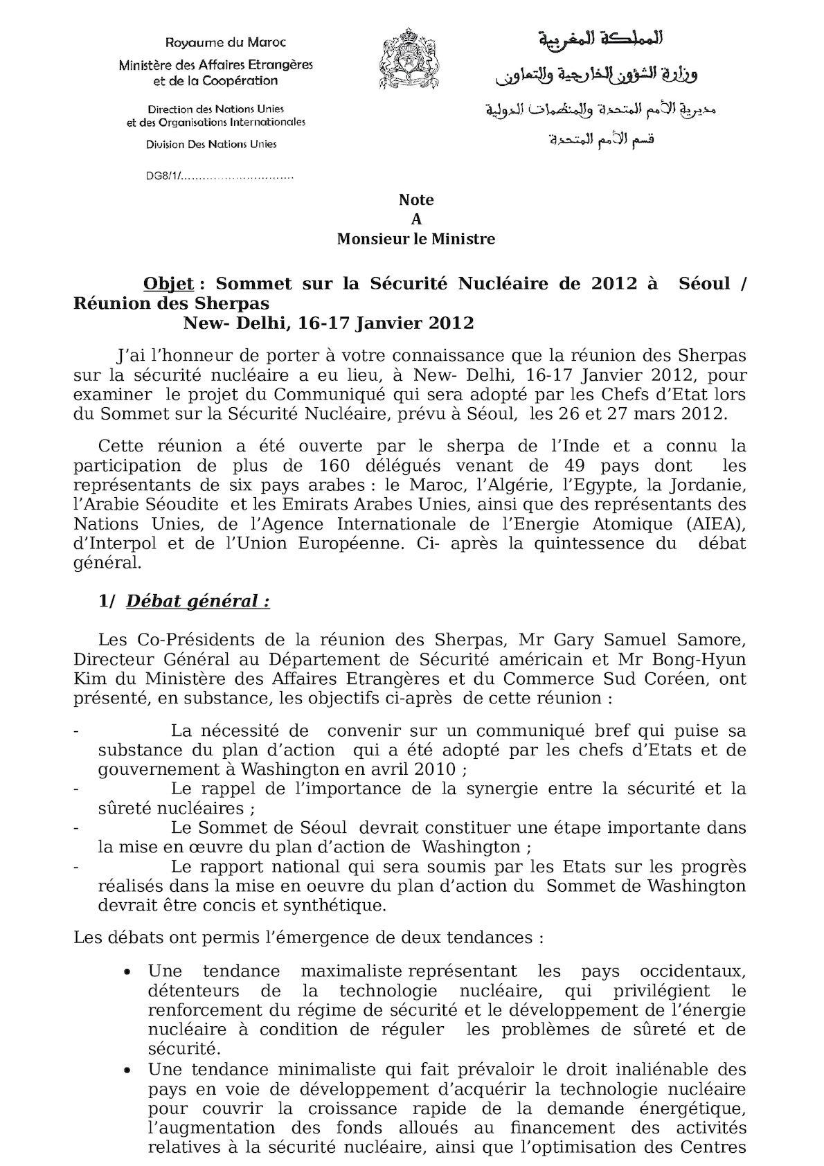 Note M Ministre CR Réunion Des Ss Sherpa[1](1).