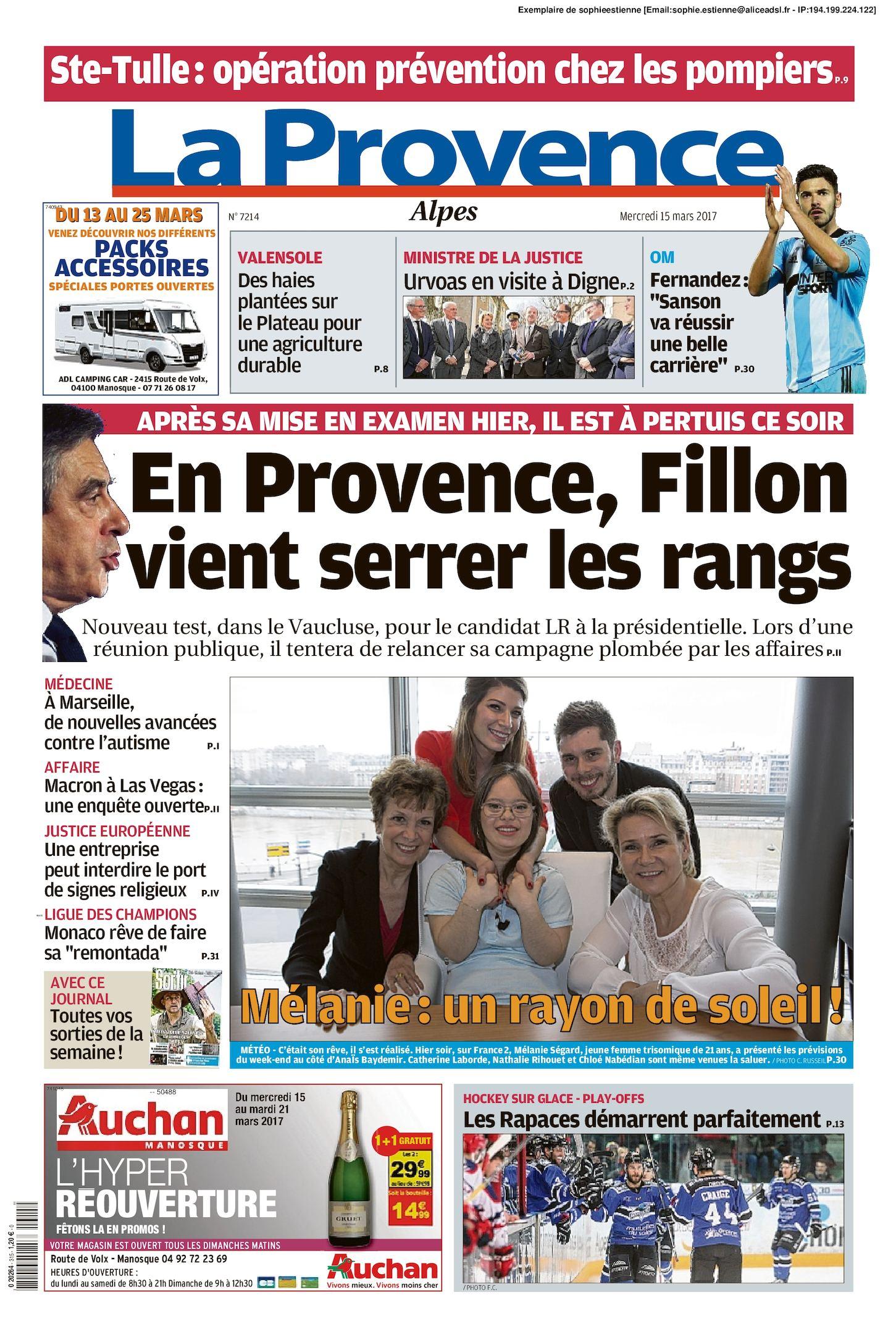 Calaméo - La Provence Edition Alpes Du 2017 03 15 0b8f6f421370