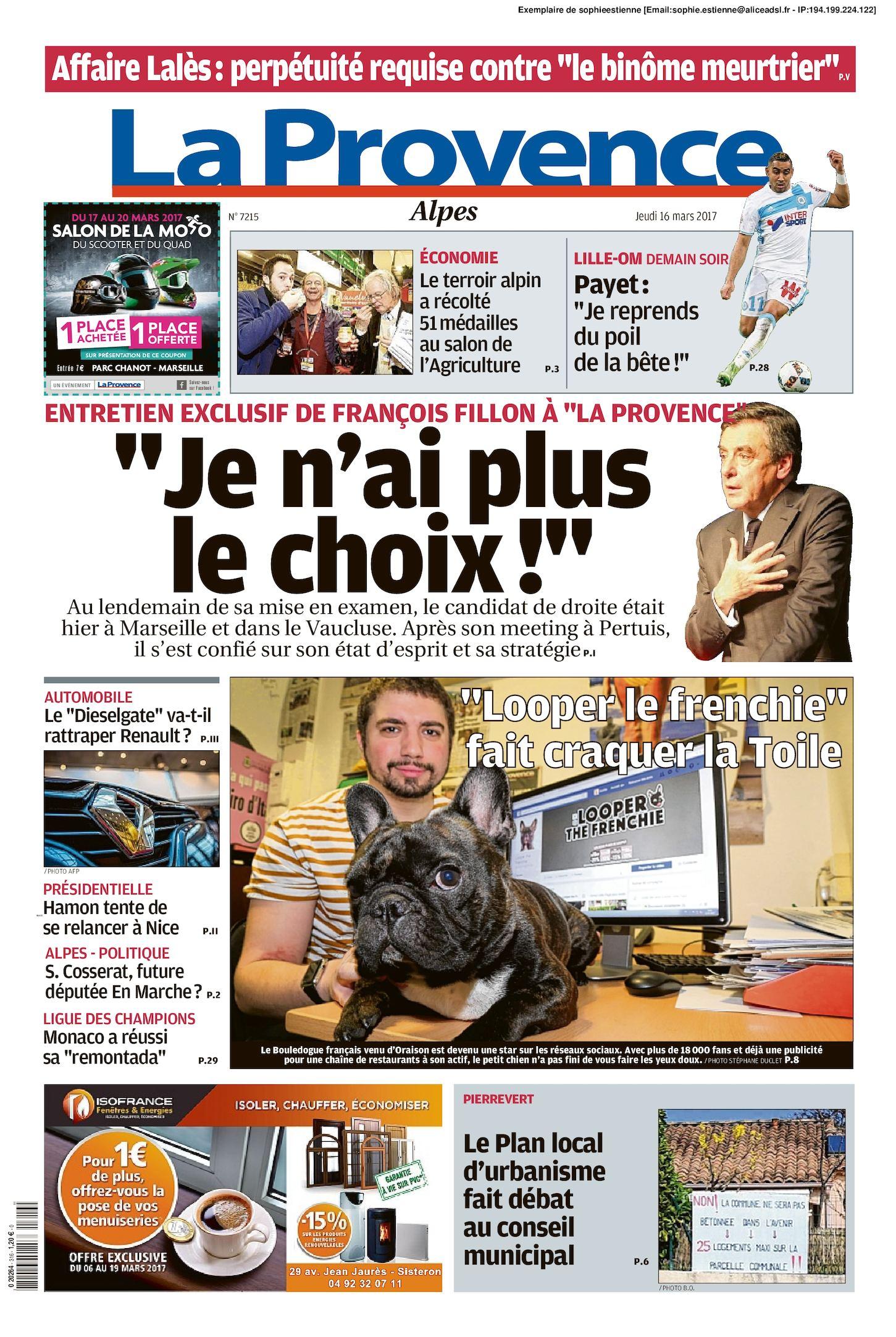 Calaméo - La Provence Edition Alpes Du 2017 03 16 bc29db44aebb