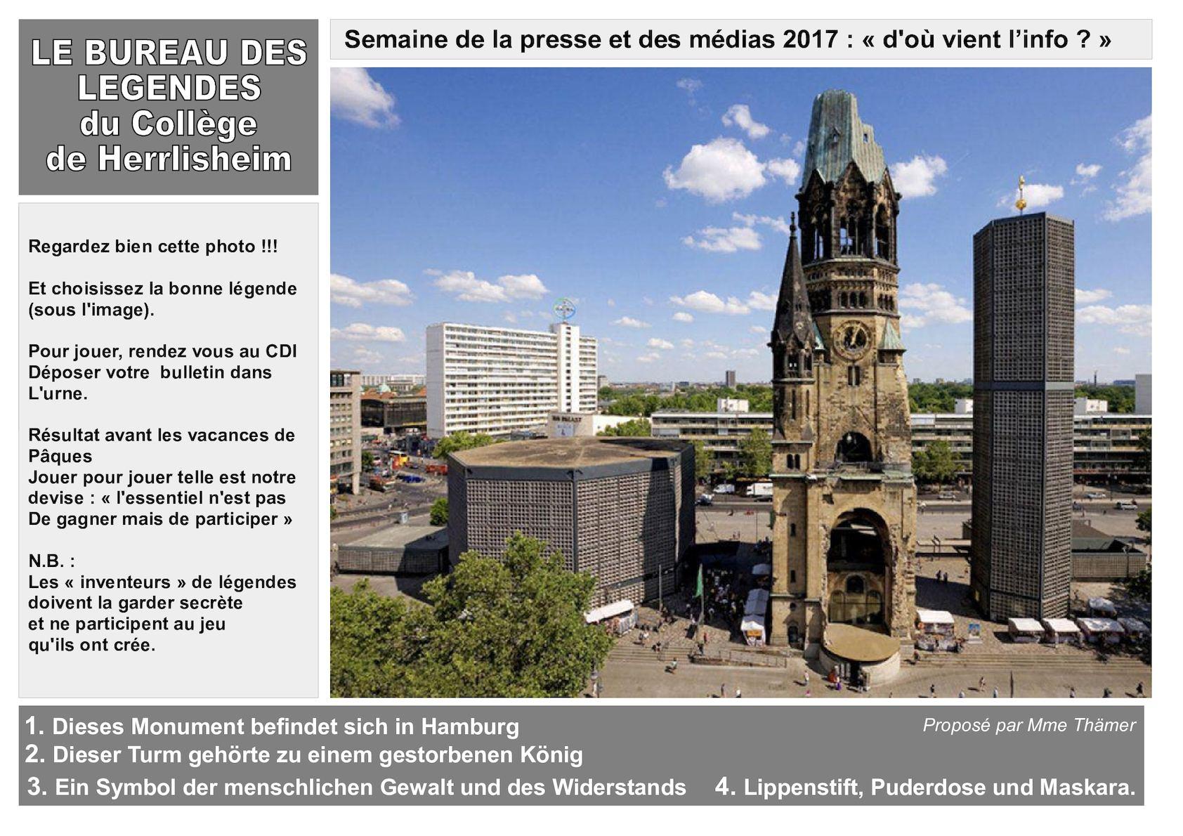 Calaméo bureau des légendes cdi collège de herrlisheim