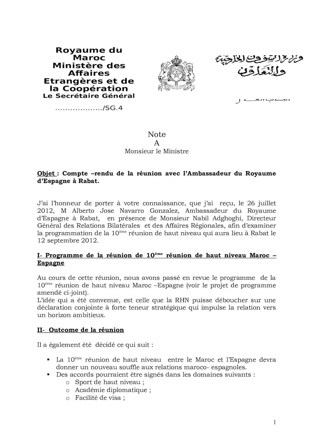 Maroc Espagne 10ème Rhn