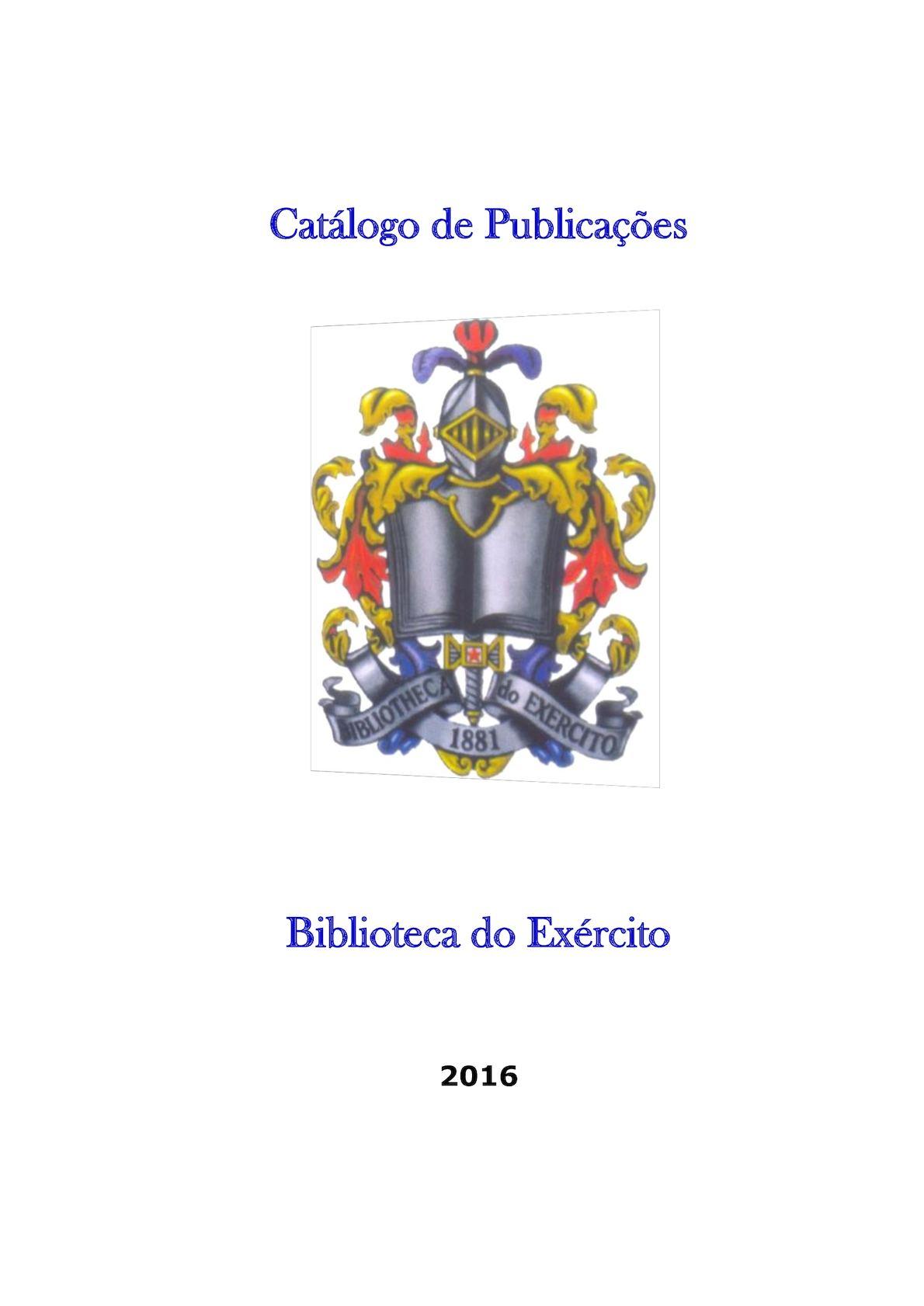 Catálogo De Publicações 2017 Jan