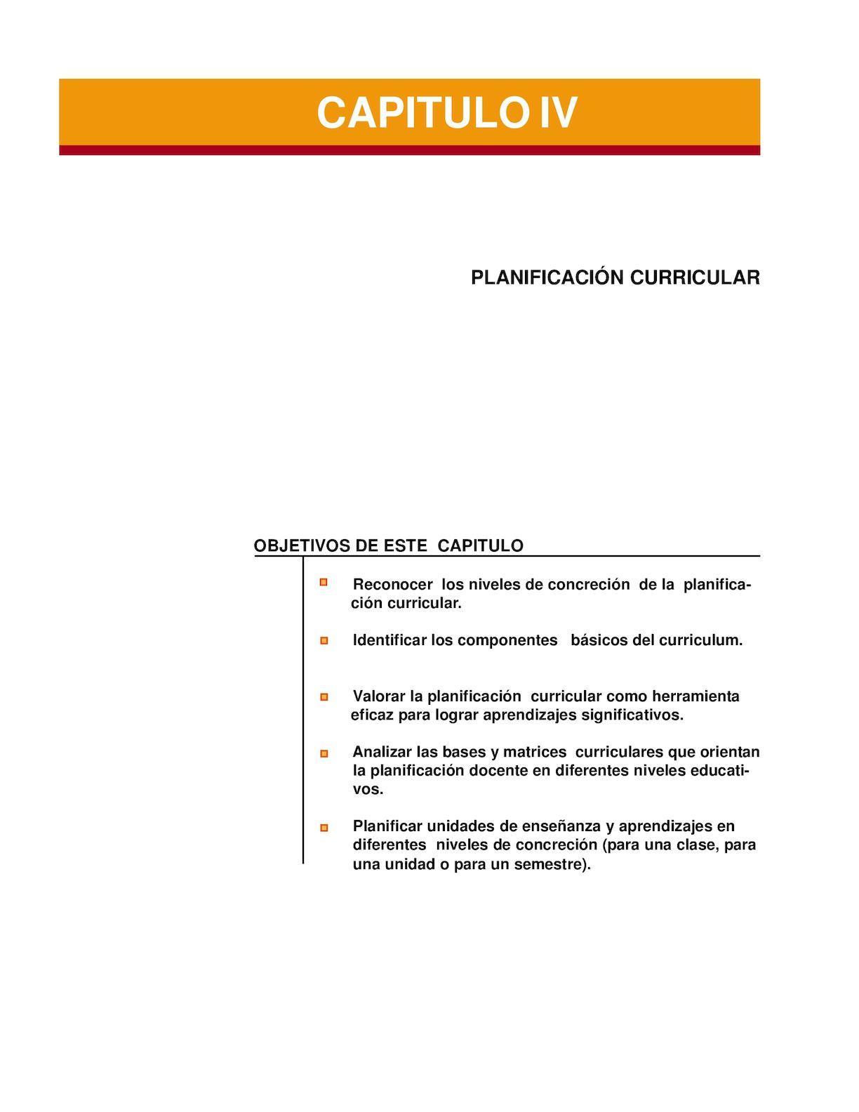 Calaméo - Planificación Curricular