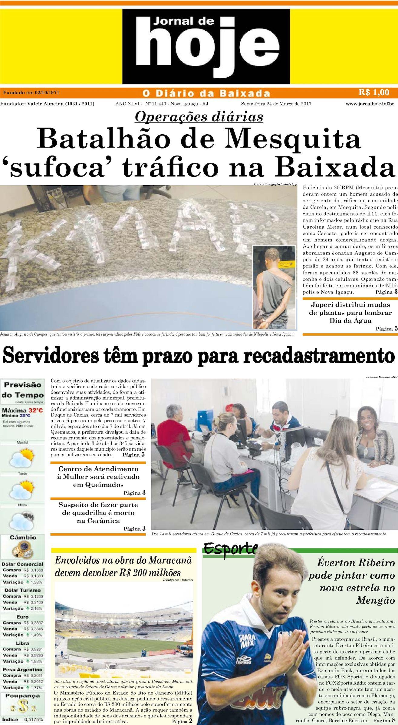 Jornal De Hoje 240317