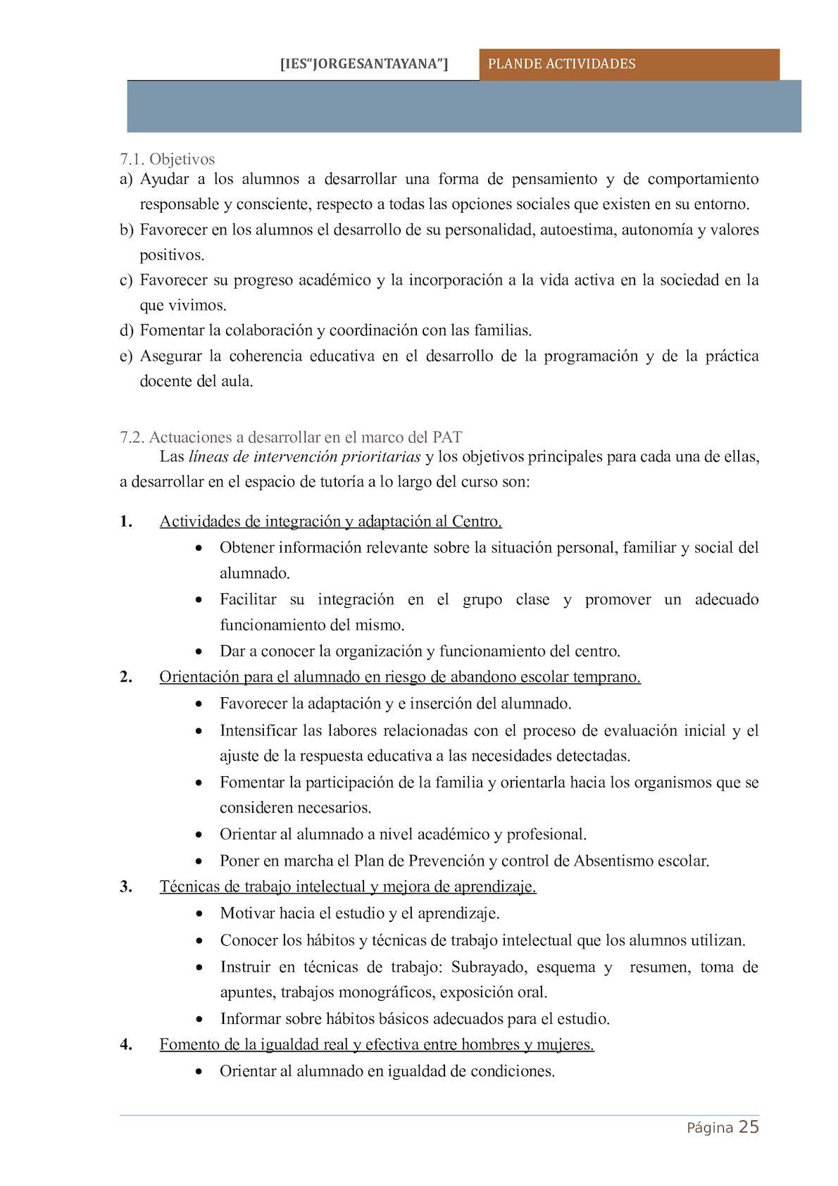 Plan De Actividades 2016 2017 - CALAMEO Downloader