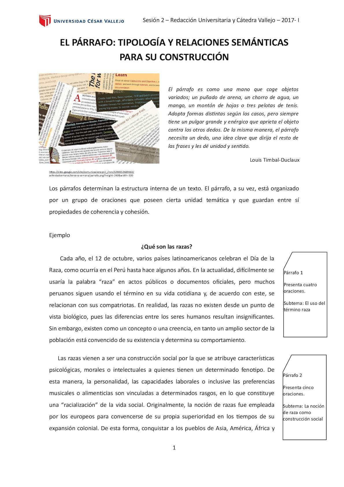 Calaméo - REDACCIÓN UNIVERSITARIA 2: EL PÁRRAFO: TIPOLOGÍA Y ...