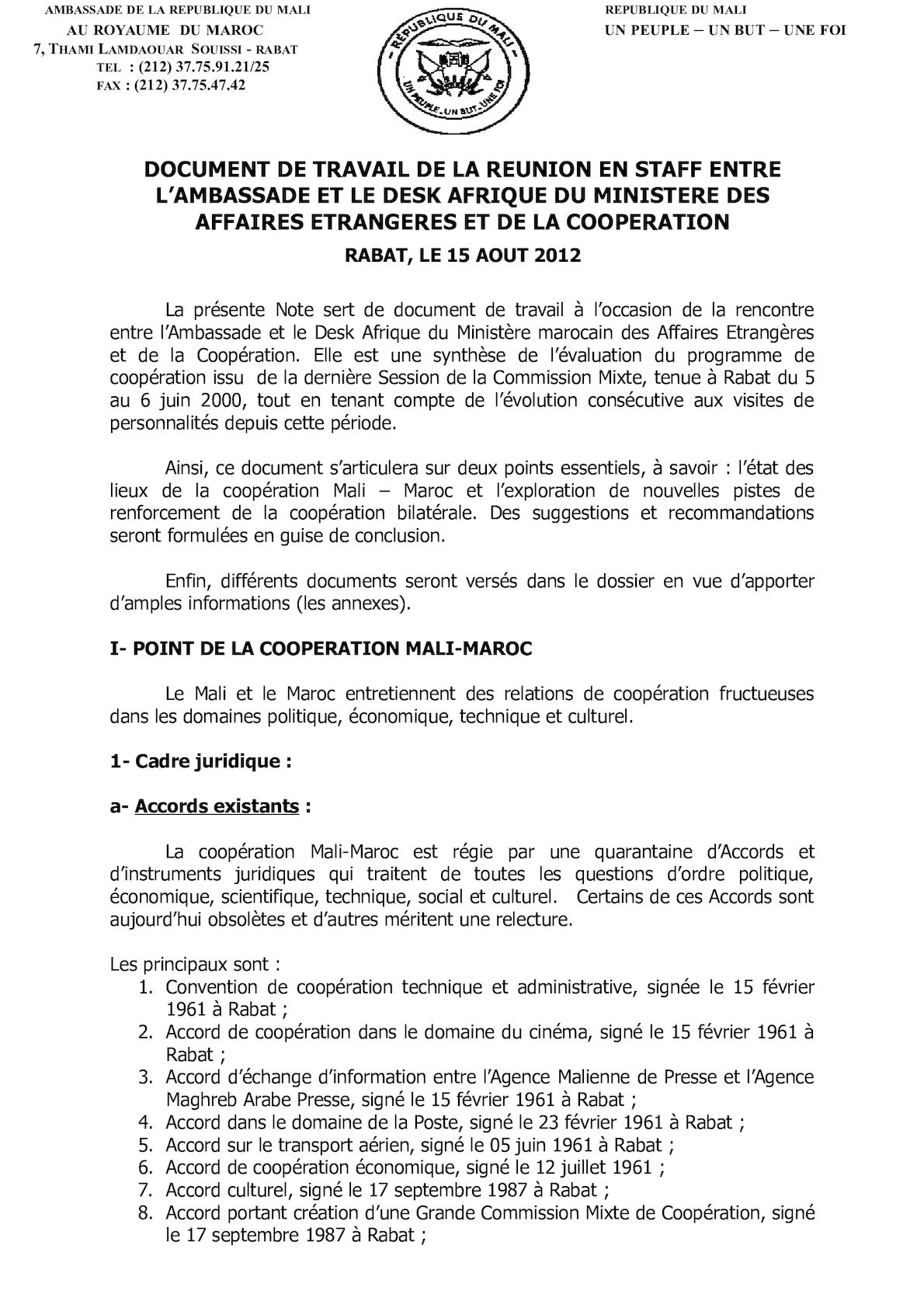 Document De Travail Amba MAEC Version 2