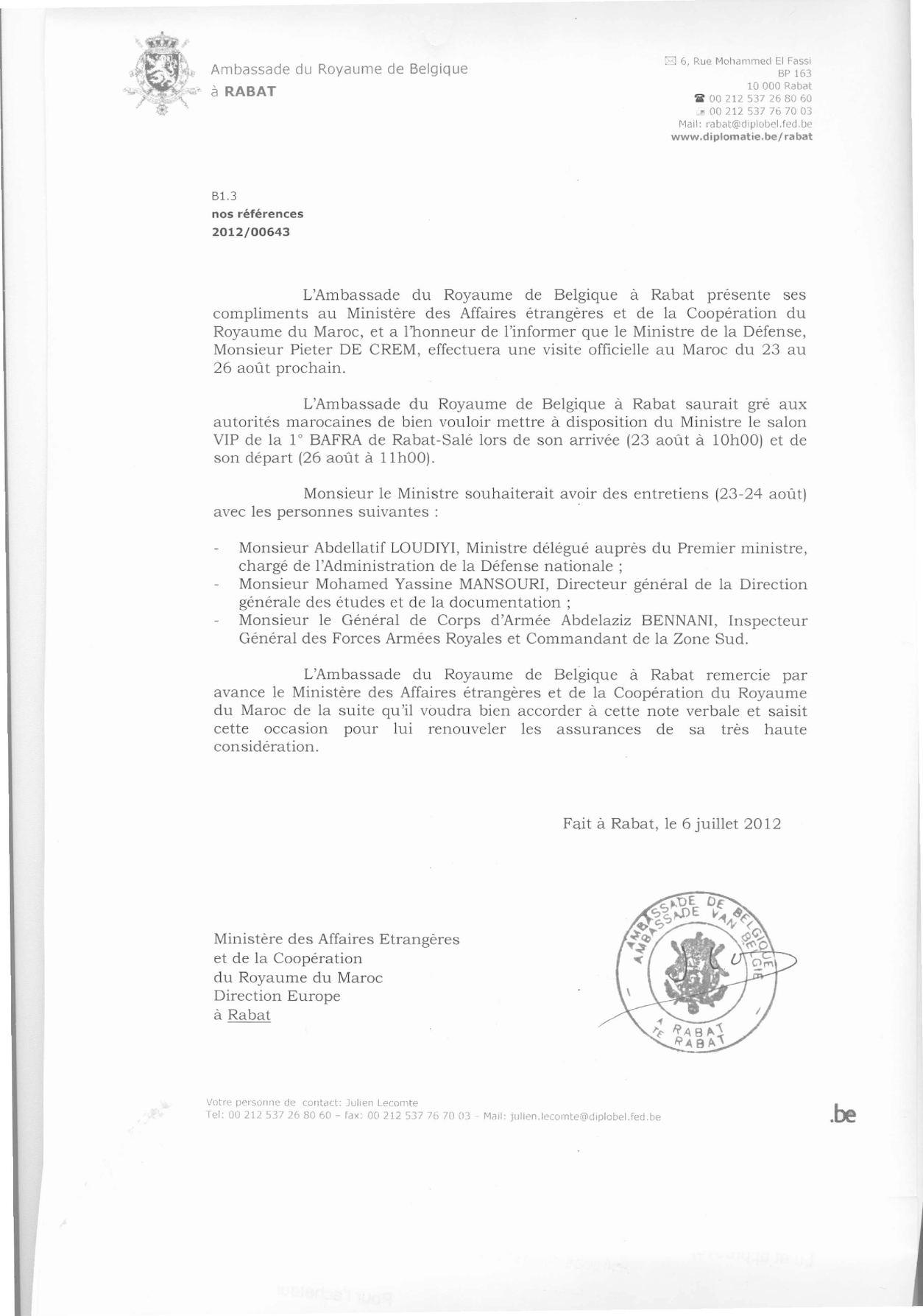 NV MINISTRE DE CREM0001