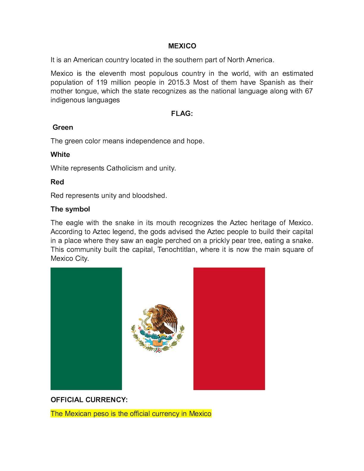 Calamo Mexico 1
