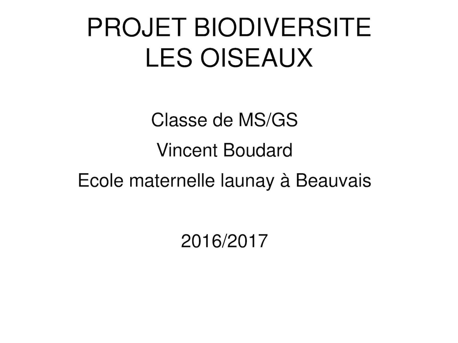 Diaporama Oiseaux