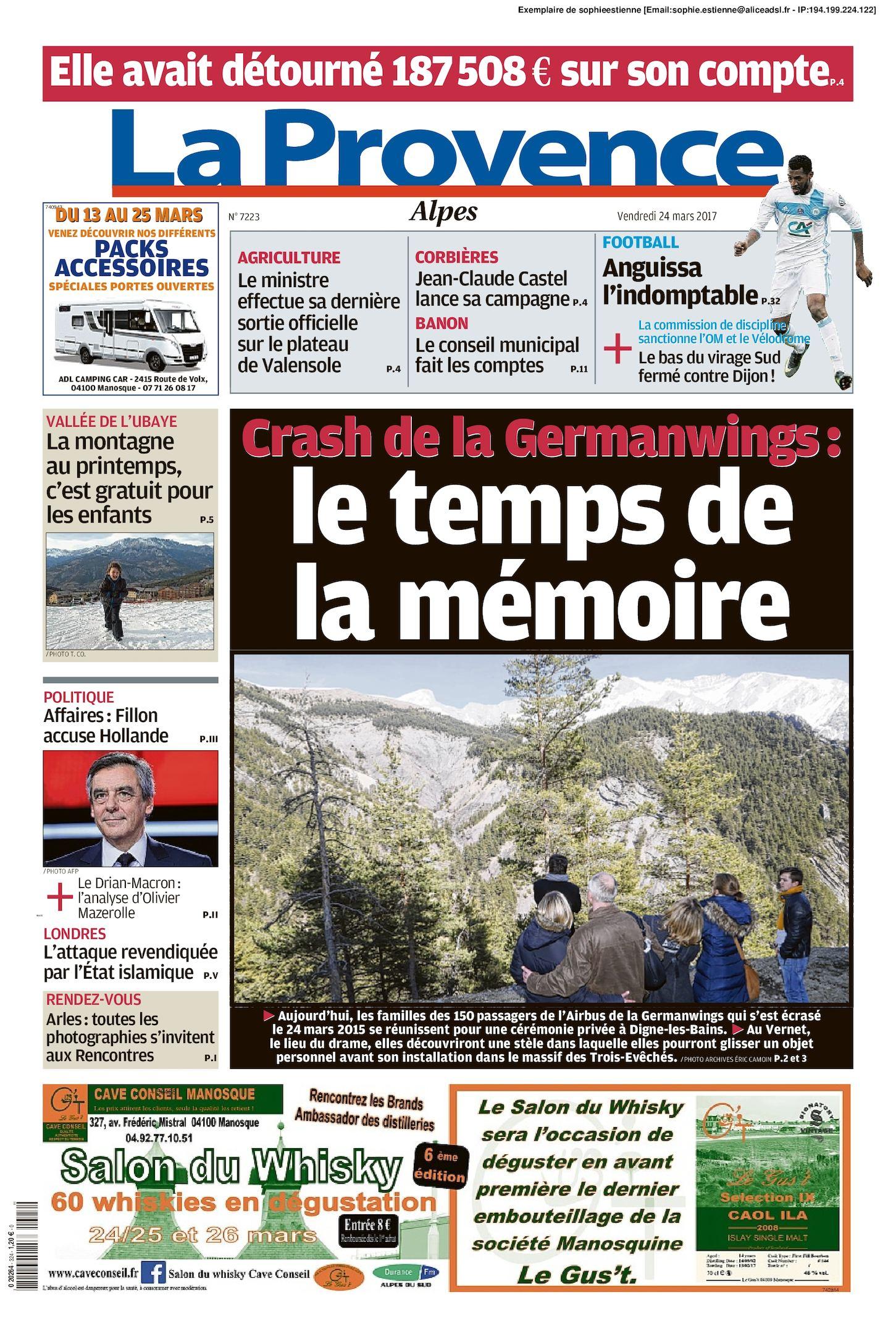 Calaméo La Provence Edition Alpes Du 2017 03 24