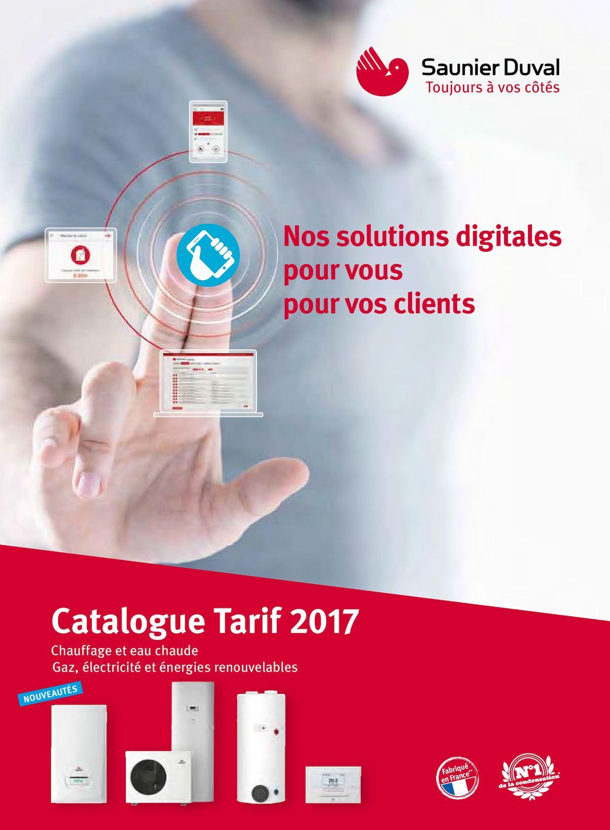 Calam o catalogue saunier duval 2017 - Saunier duval nantes ...