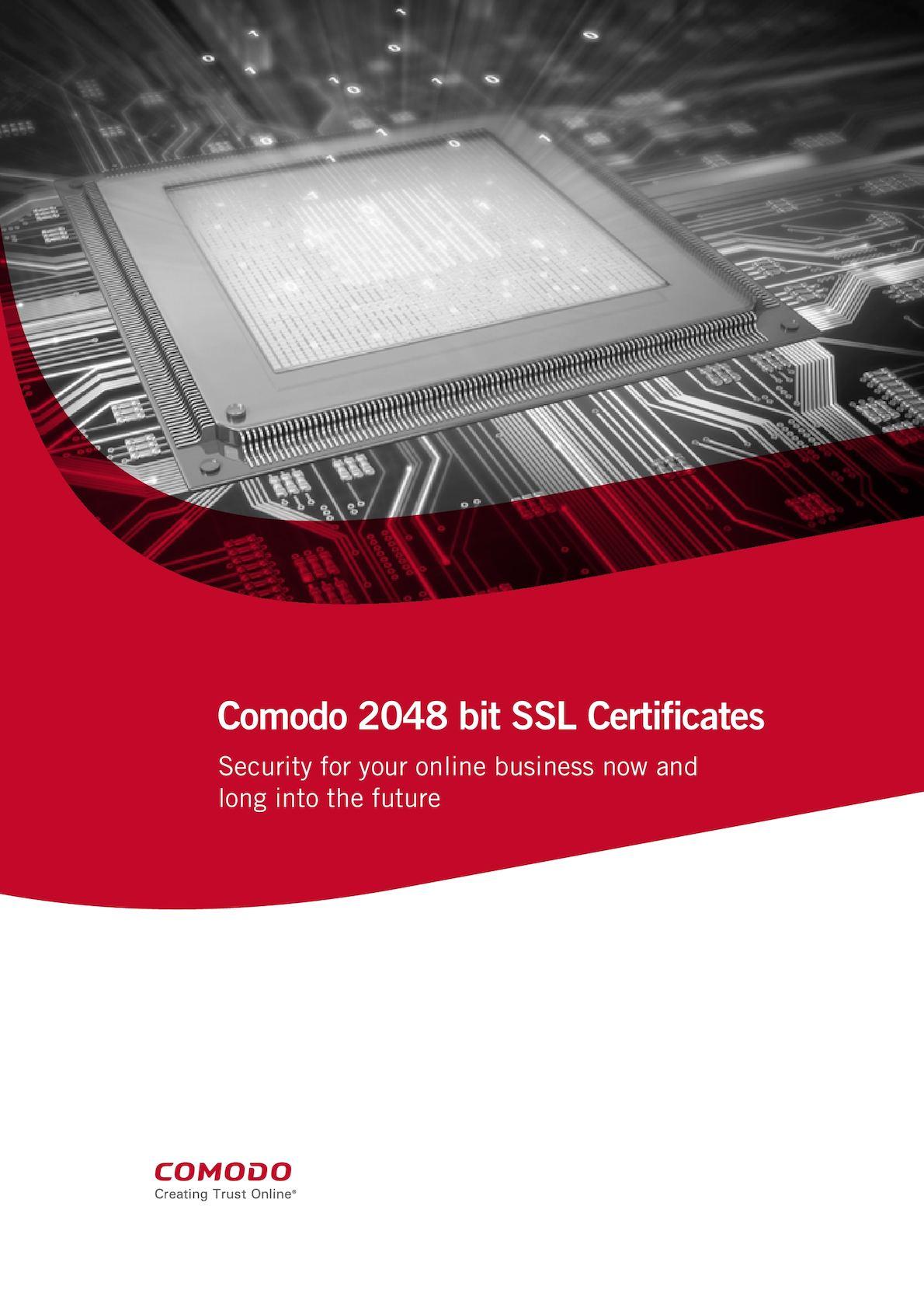 Calamo Security Features 2048 Bit Ssl Certificate