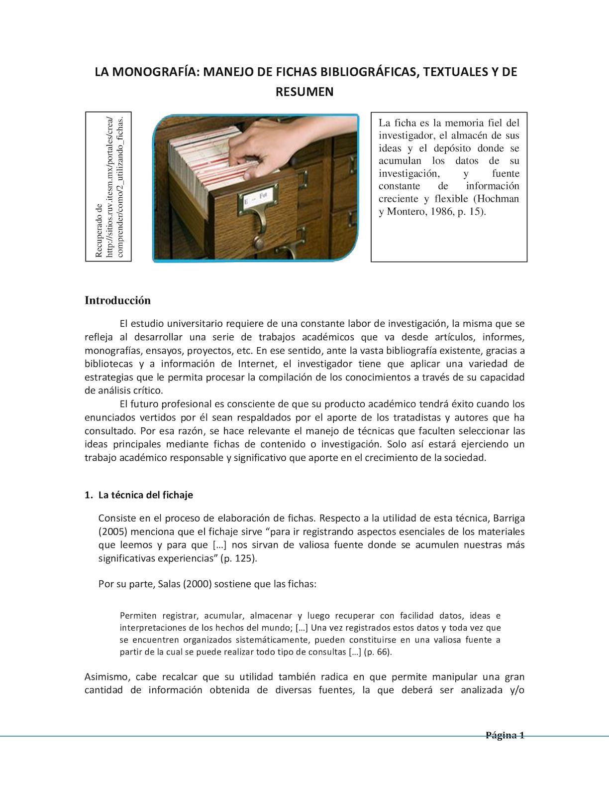 Calaméo - Fichas de referencia, textual y resumen