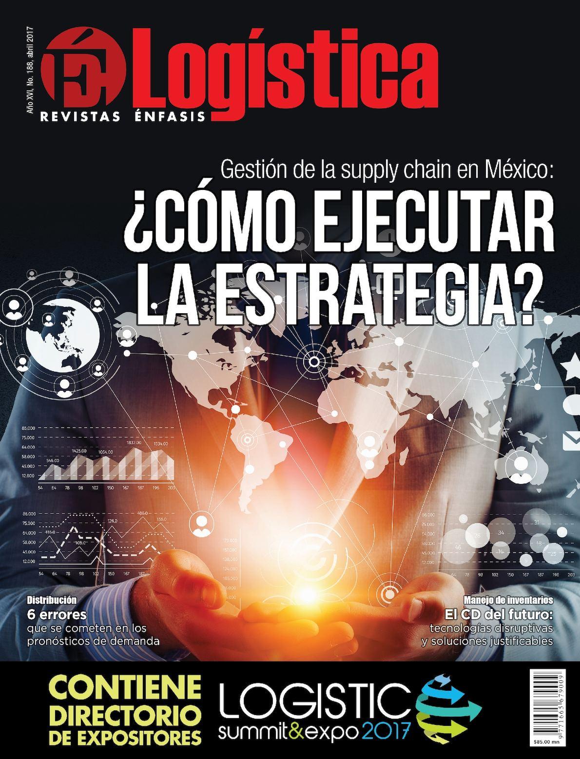 ÉNFASIS LOGÍSTICA NO.188 ABRIL/2017