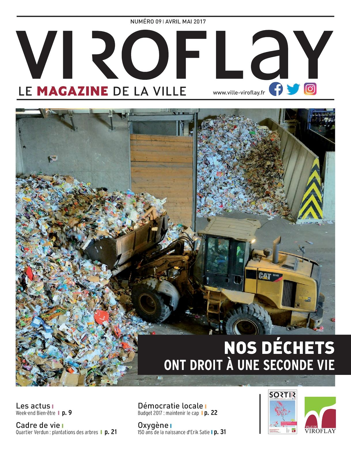 Viroflay le magazine de la ville n°9 (avril - mai 2017)