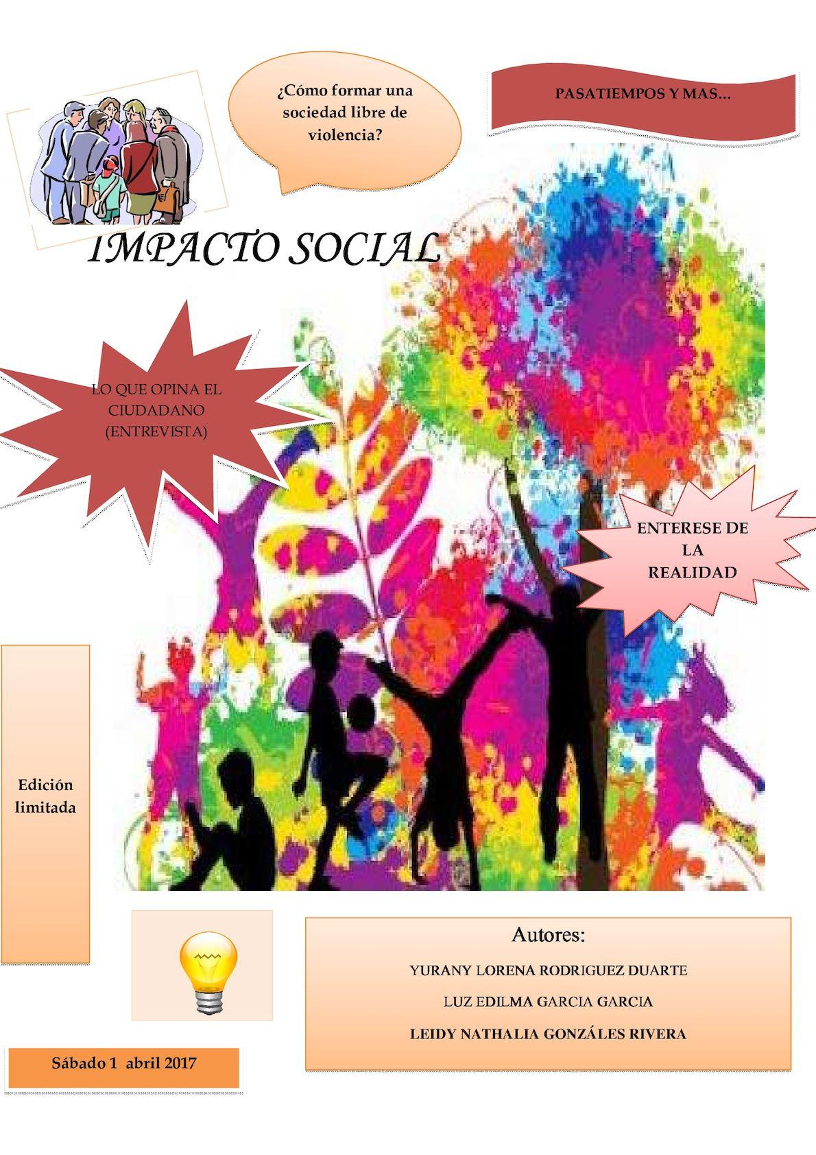 Impacto social autores